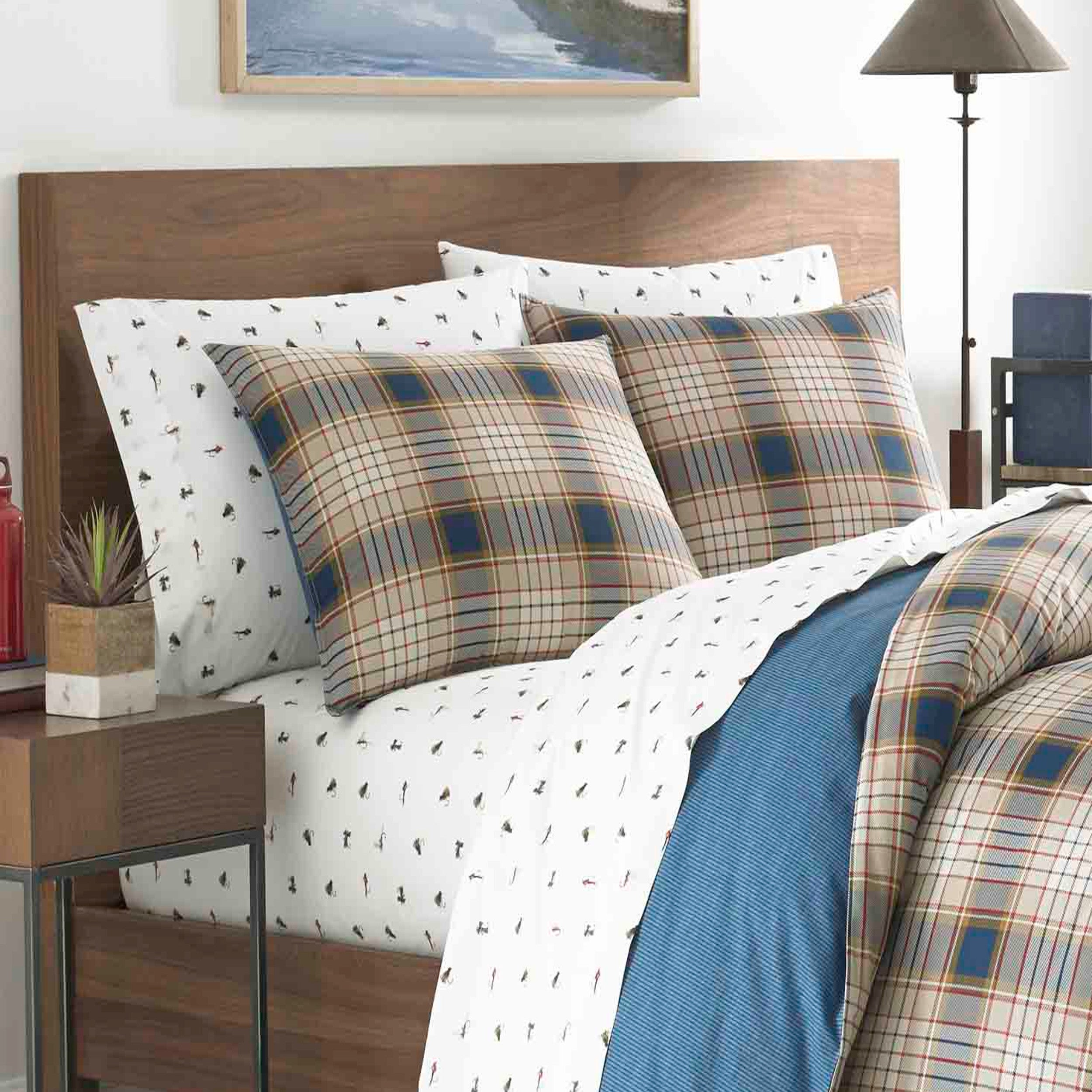 Shop eddie bauer elliot plaid duvet cover set on sale free shipping today overstock com 20563688
