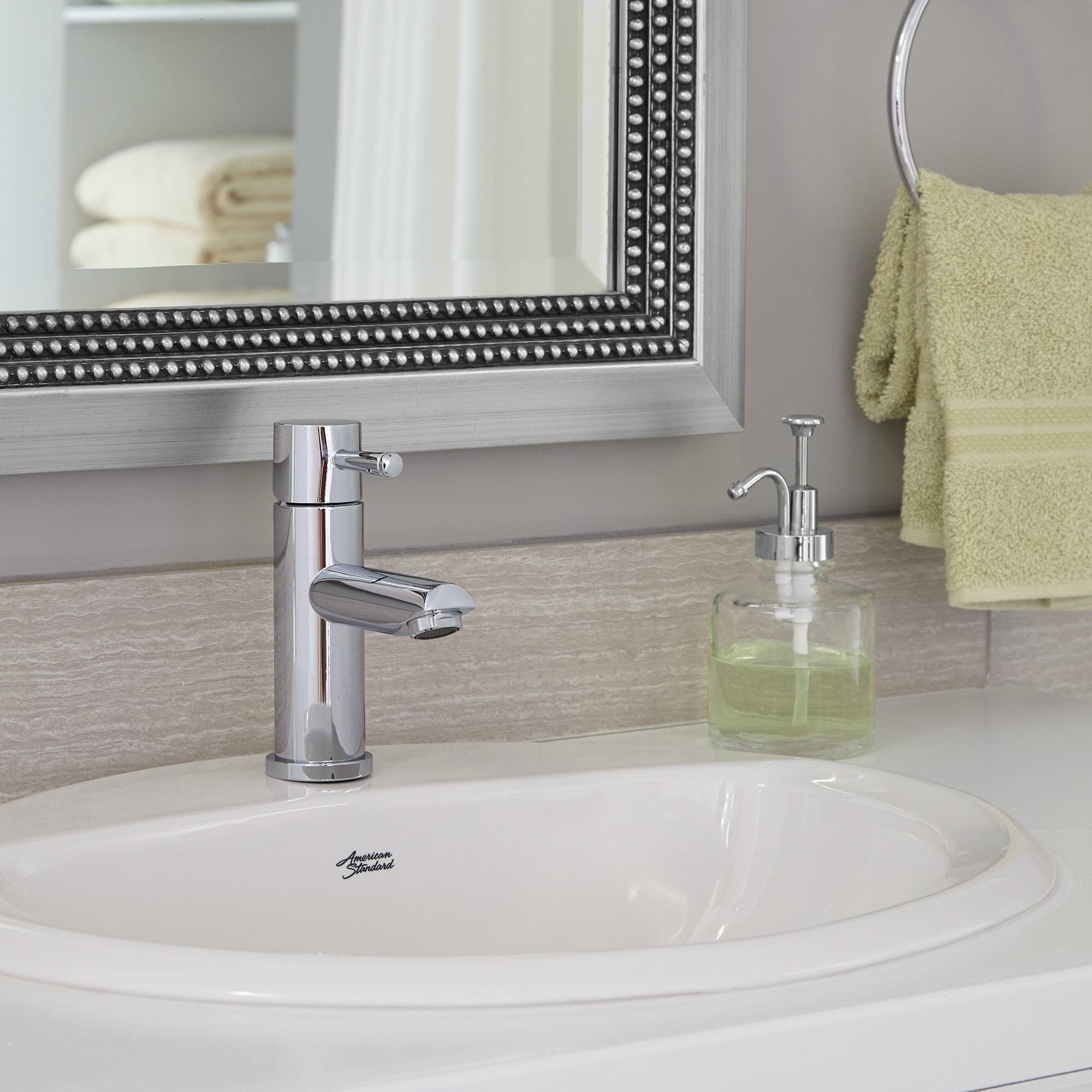 Shop American Standard Aqualyn Drop In Porcelain Bathroom Sink ...