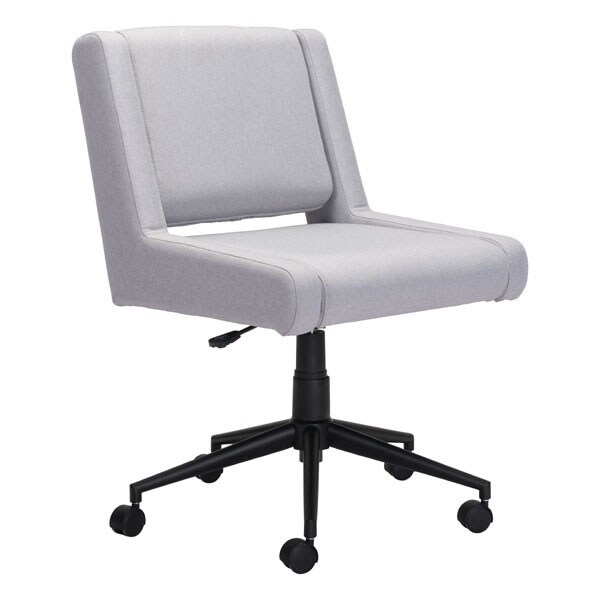 brix office chair light gray free shipping today overstock