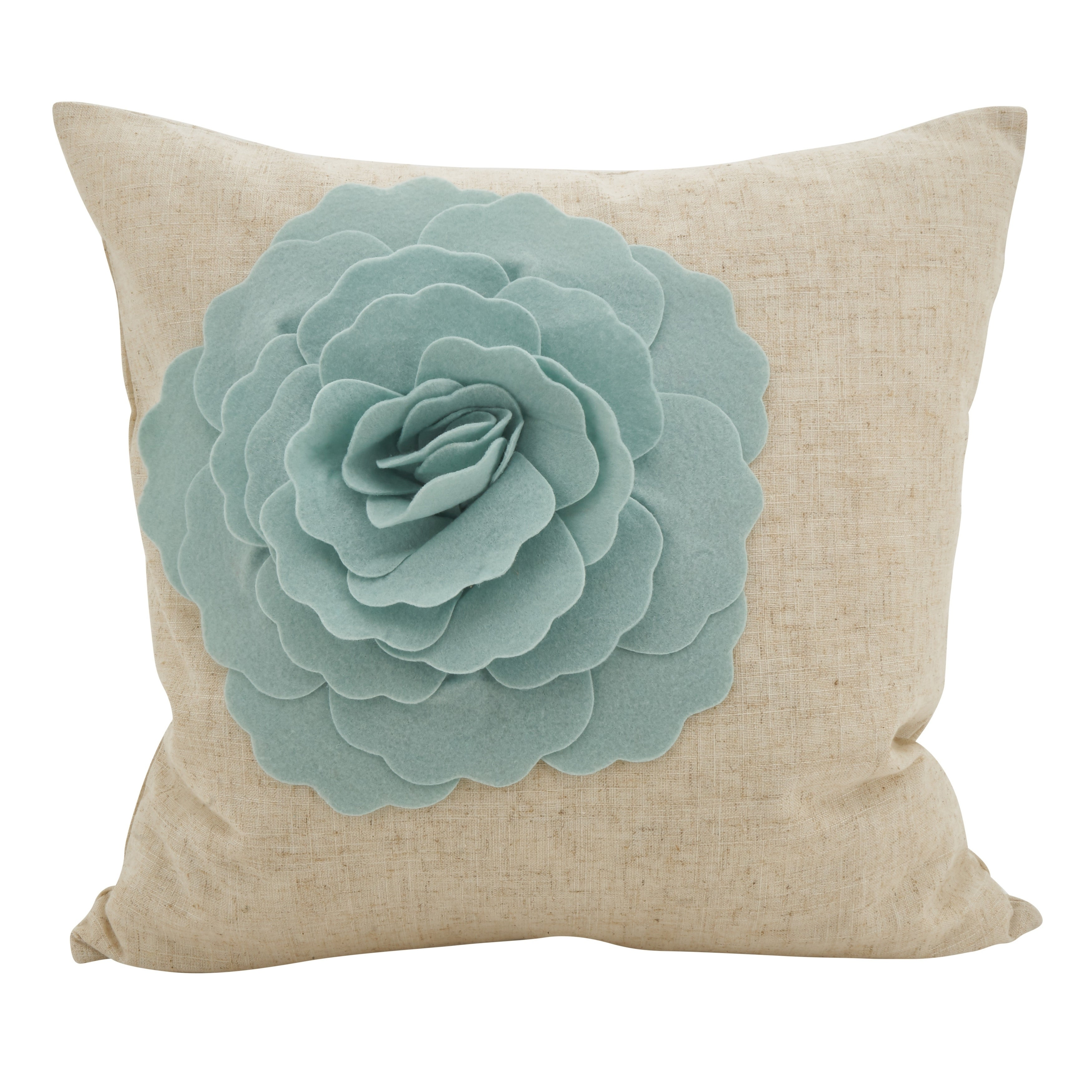 Lotus Flower Statement Poly Filled Throw Pillow Free Shipping On