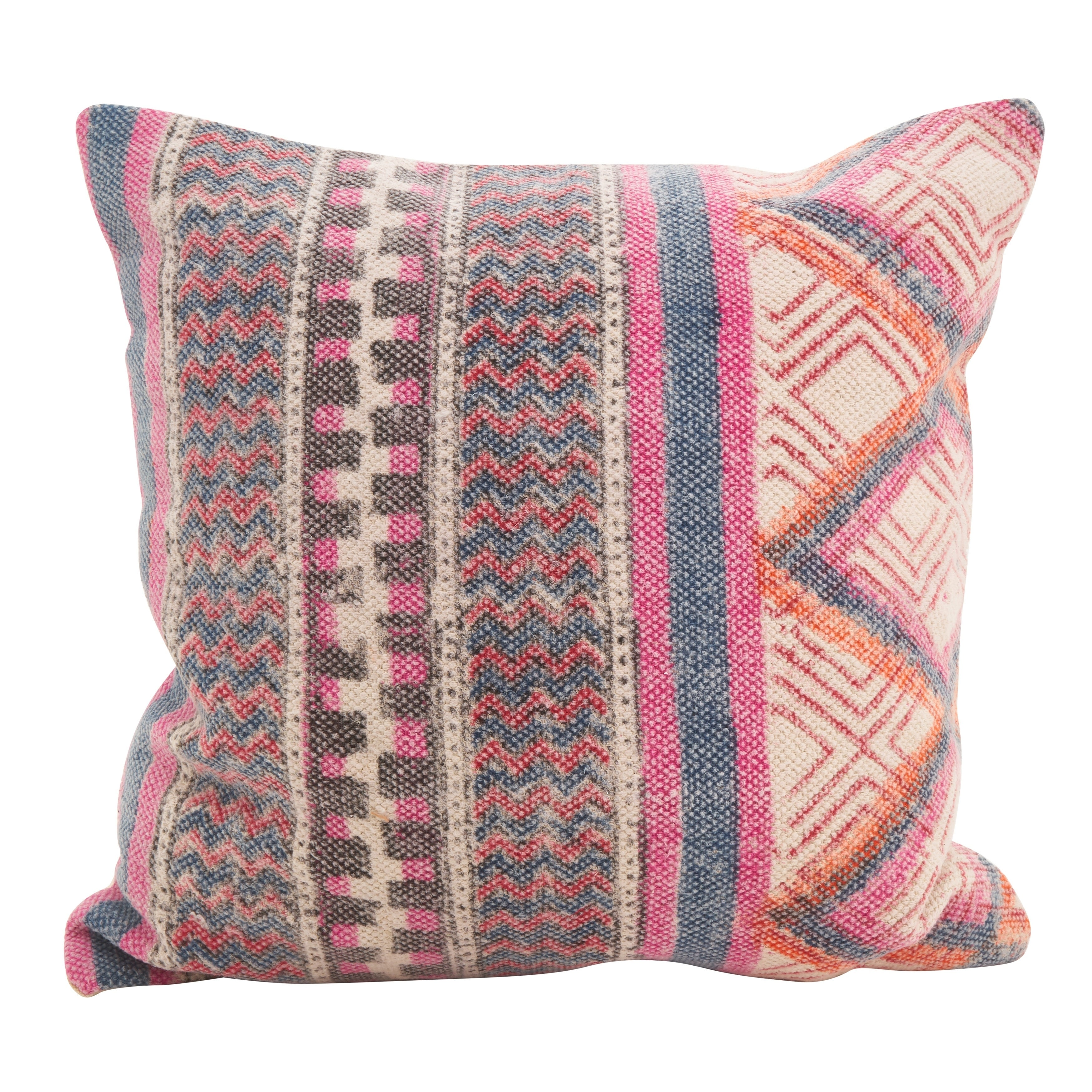 Shop Bohemian Mix Square Down Filled Throw Pillow - Free Shipping ...