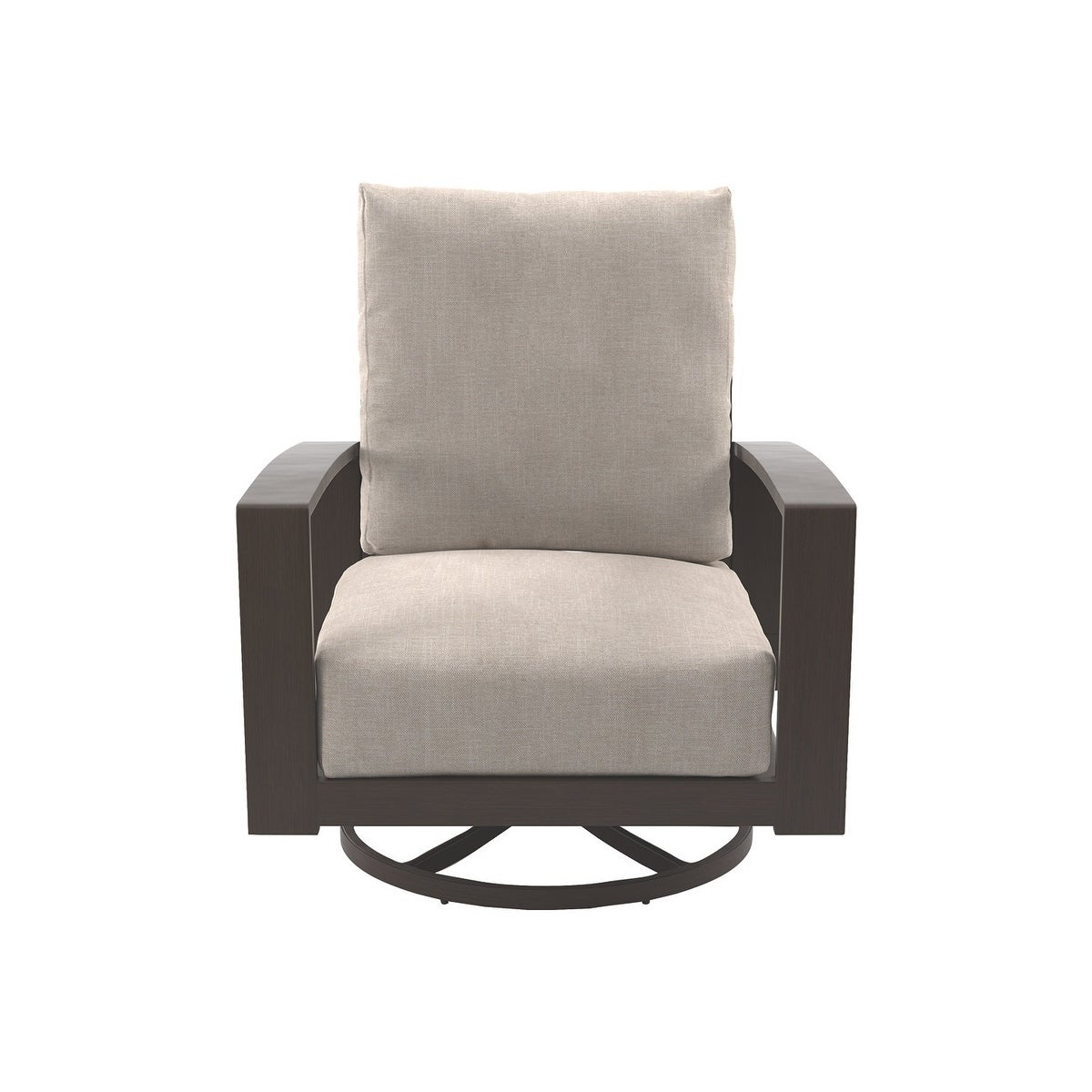 Shop Signature Design By Ashley Cordova Reef Beige Swivel Chairs Set Of 2    Free Shipping Today   Overstock.com   20586445