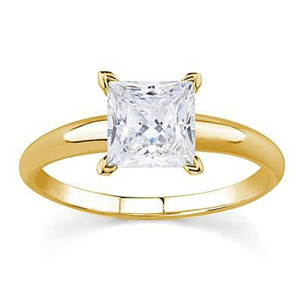 solitaire diamond rings 1 carat diamond solitaire ring 1 carat round 14k yellow  gold .