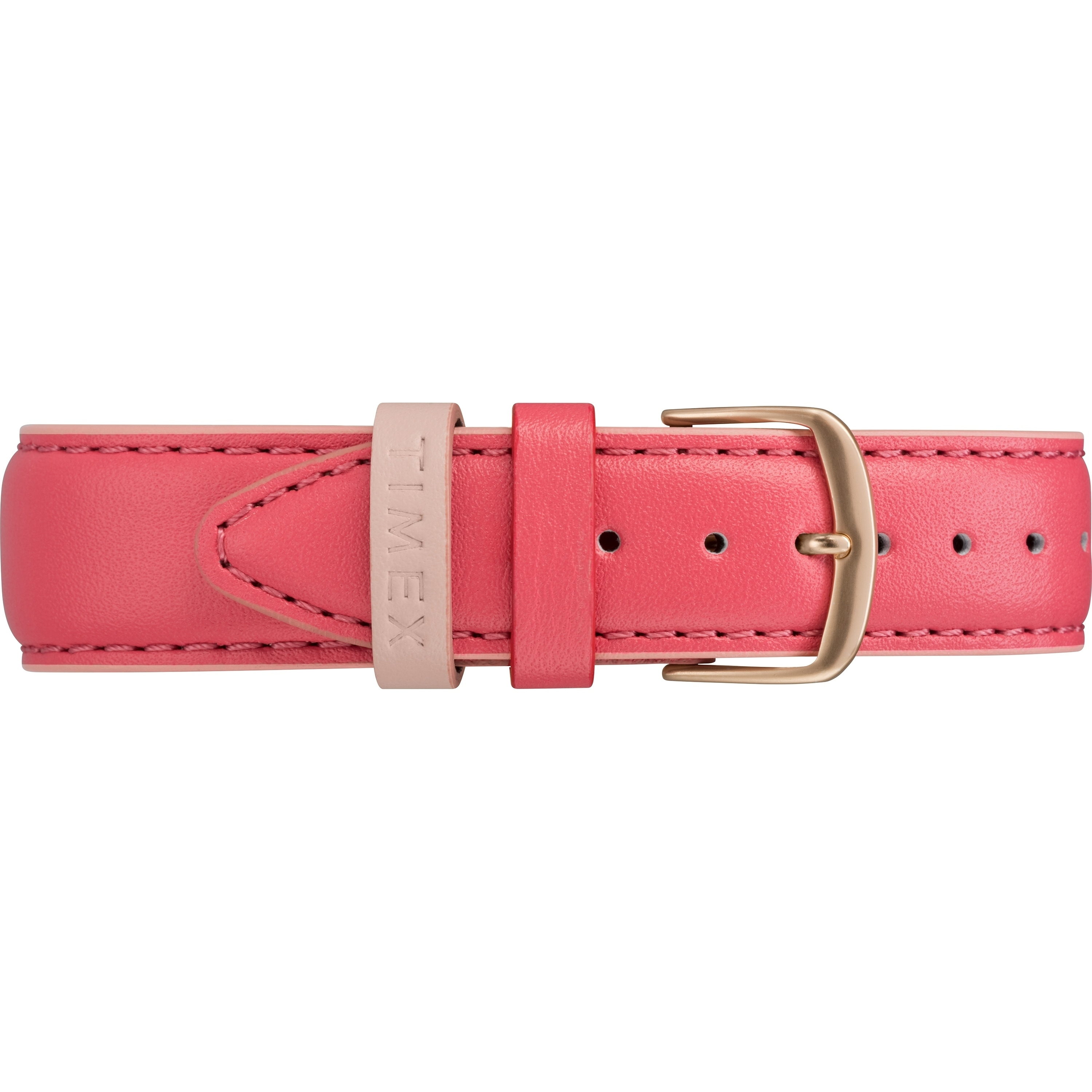 4e9234fd0 Shop Timex Women's TW2R62500 Easy Reader 38mm Pink/Rose Gold-Tone Leather  Strap Watch - Pink - Free Shipping Today - Overstock - 20598610
