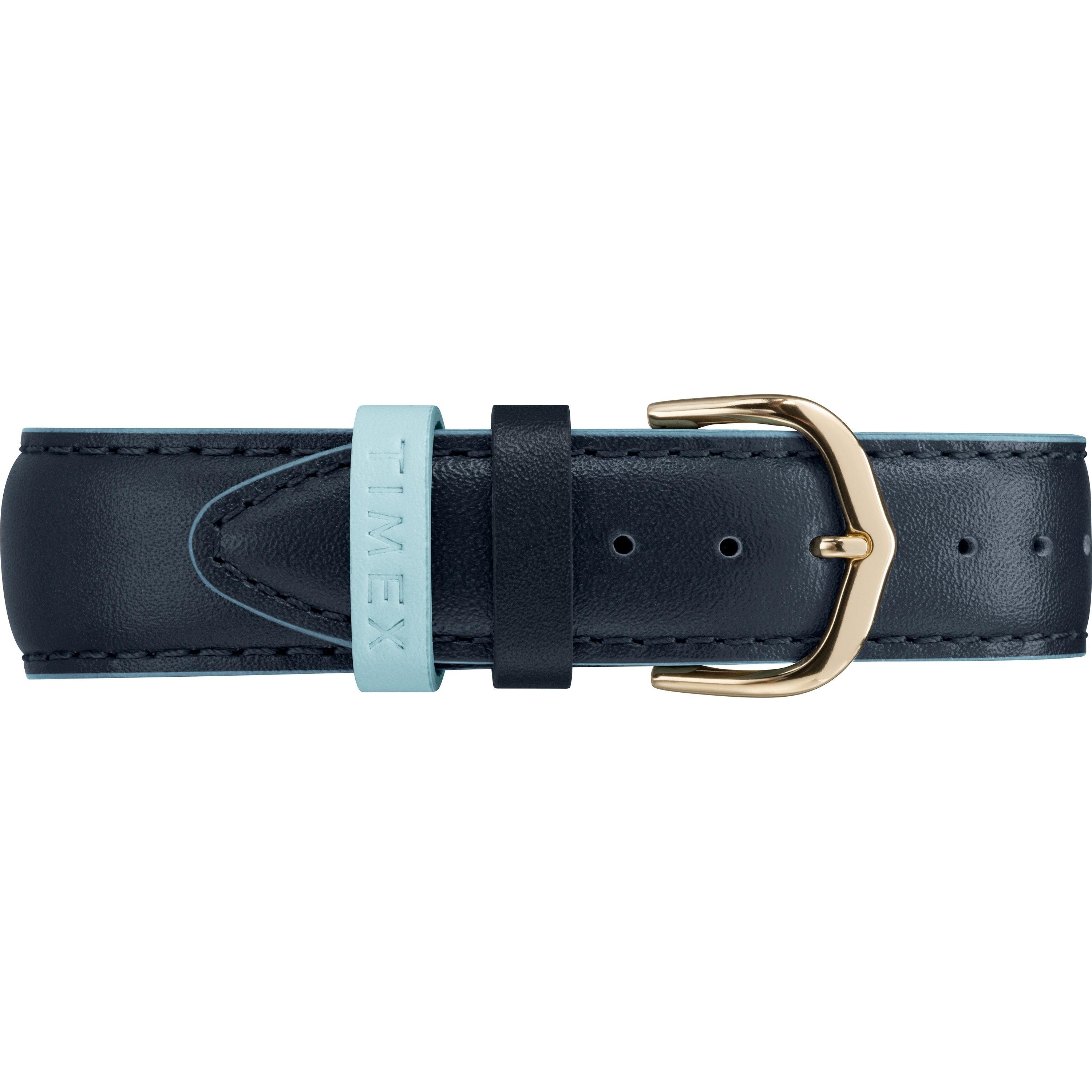 6355f0e62450 Shop Timex Women s TW2R62600 Easy Reader 38mm Blue Gold-Tone Leather Strap  Watch - Blue - Free Shipping Today - Overstock - 20598644
