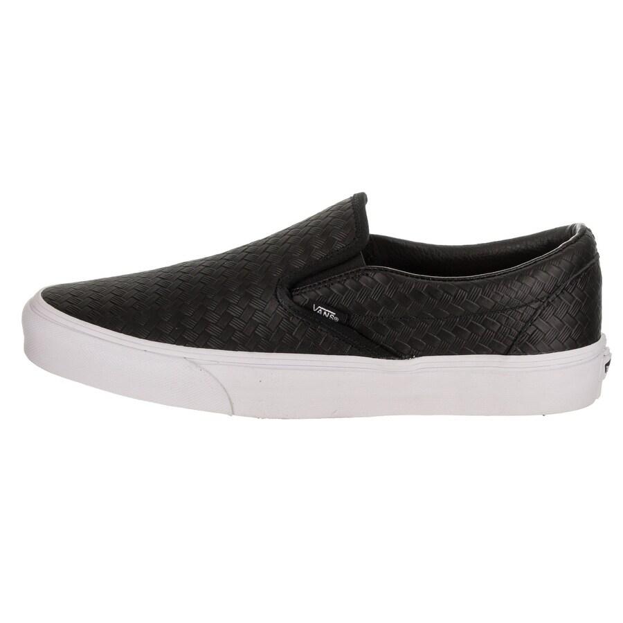 9347c10af7520b Shop Vans Unisex Classic Slip-On (Embossed Weave) Skate Shoe - Free  Shipping Today - Overstock - 20600536