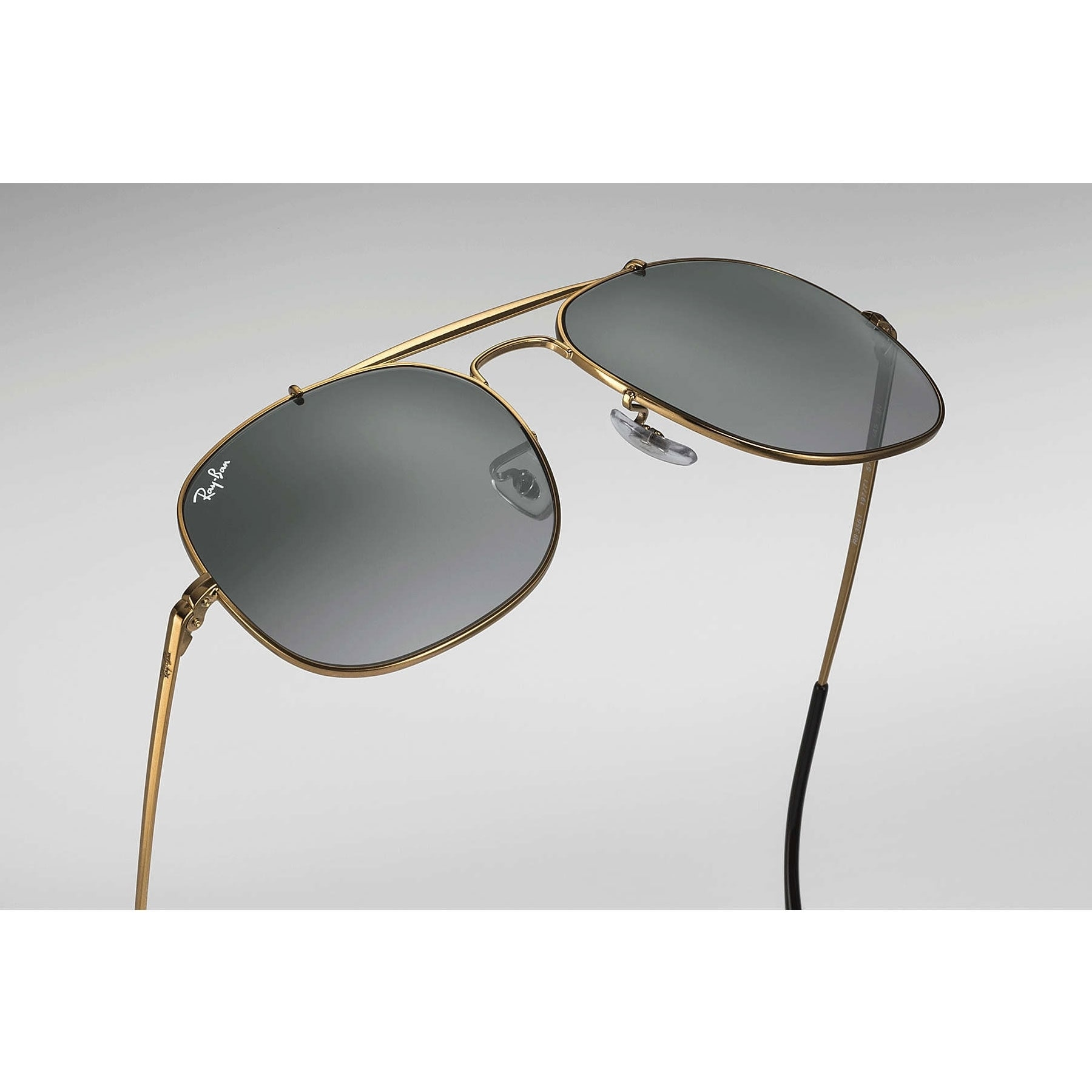 a01a4a38d7 Shop Ray-Ban RB3561 General Sunglasses Bronze   Copper  Grey Gradient 57mm  - Free Shipping Today - Overstock - 20600890