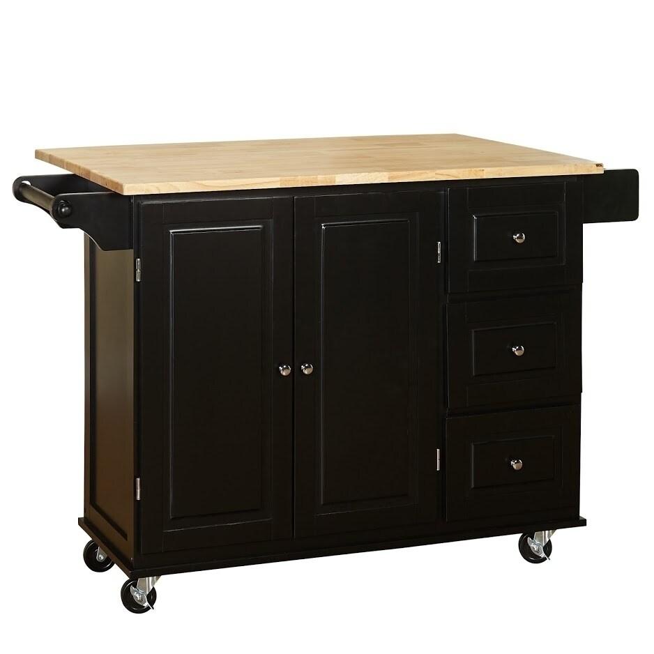 Peachy 3 Drawer Drop Leaf Kitchen Cart Download Free Architecture Designs Scobabritishbridgeorg