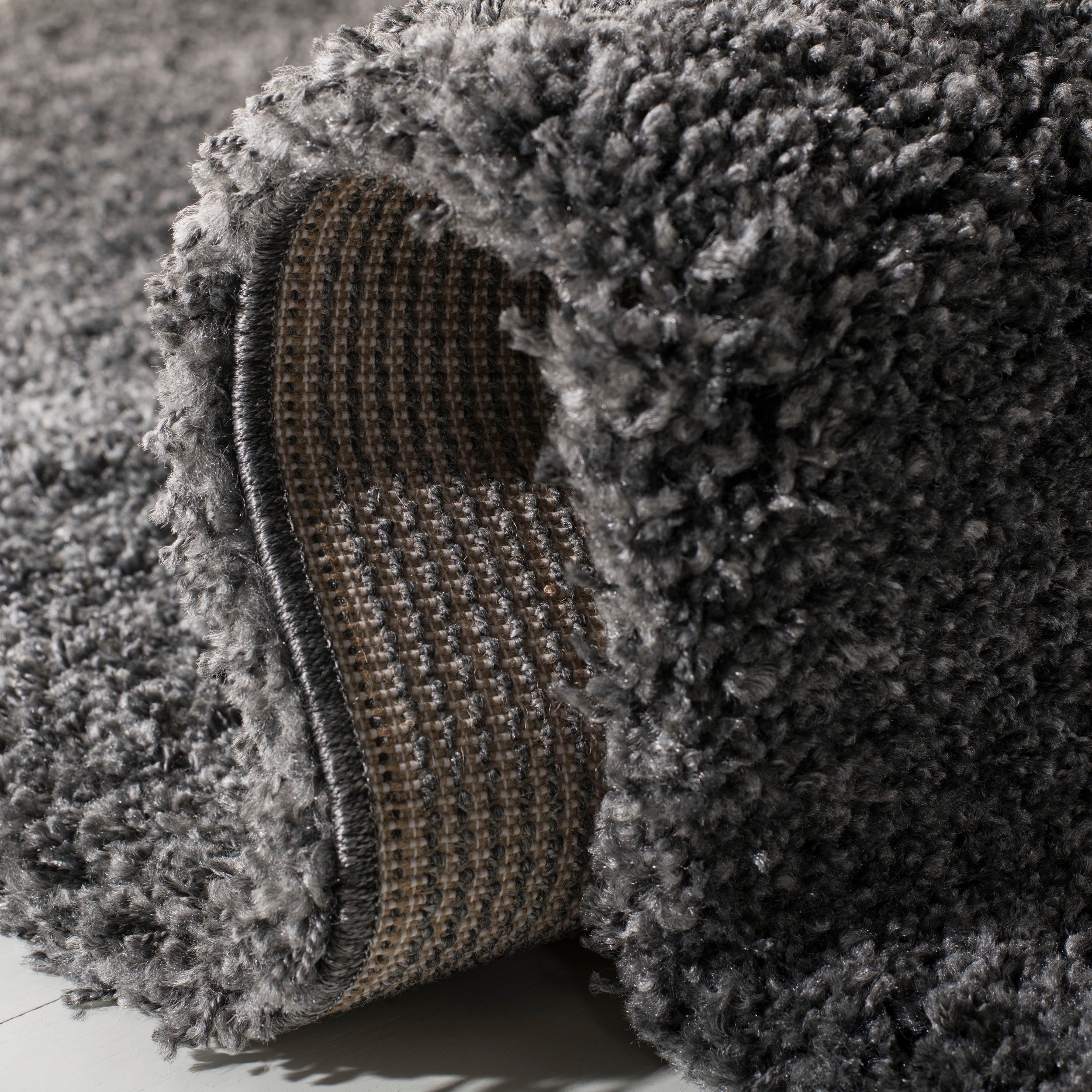 fc7a17bc77f Shop Safavieh Cozy Plush Dark Grey Charcoal Shag Rug - On Sale - Free  Shipping Today - Overstock - 20602811