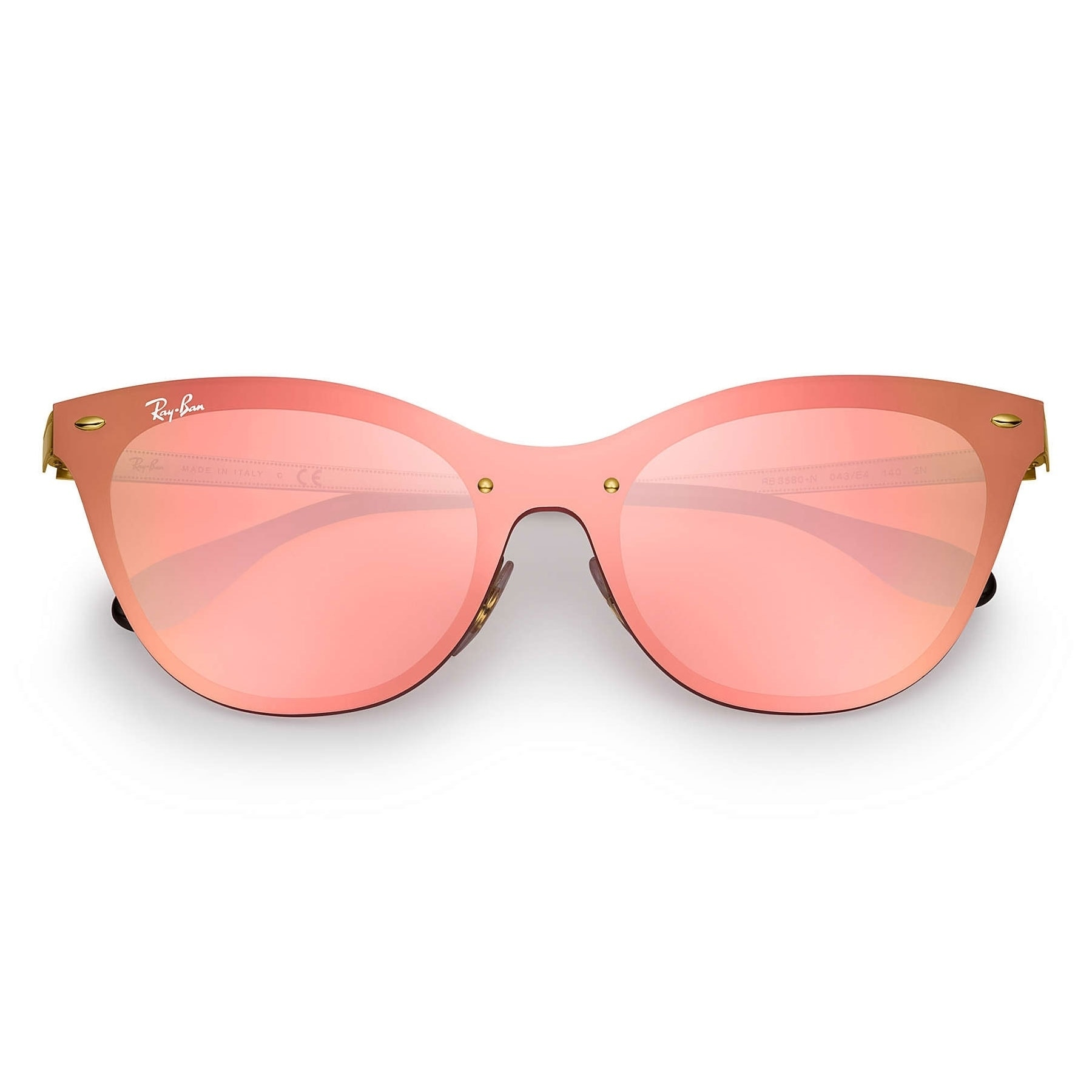 7711624ce9 Shop Ray-Ban RB3580N Blaze Cat Eye Sunglasses Gold  Pink Mirror 43mm - On  Sale - Free Shipping Today - Overstock - 20603390