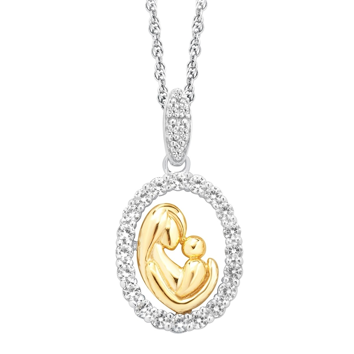 white pendant personalized in gold child p mother m necklaces and