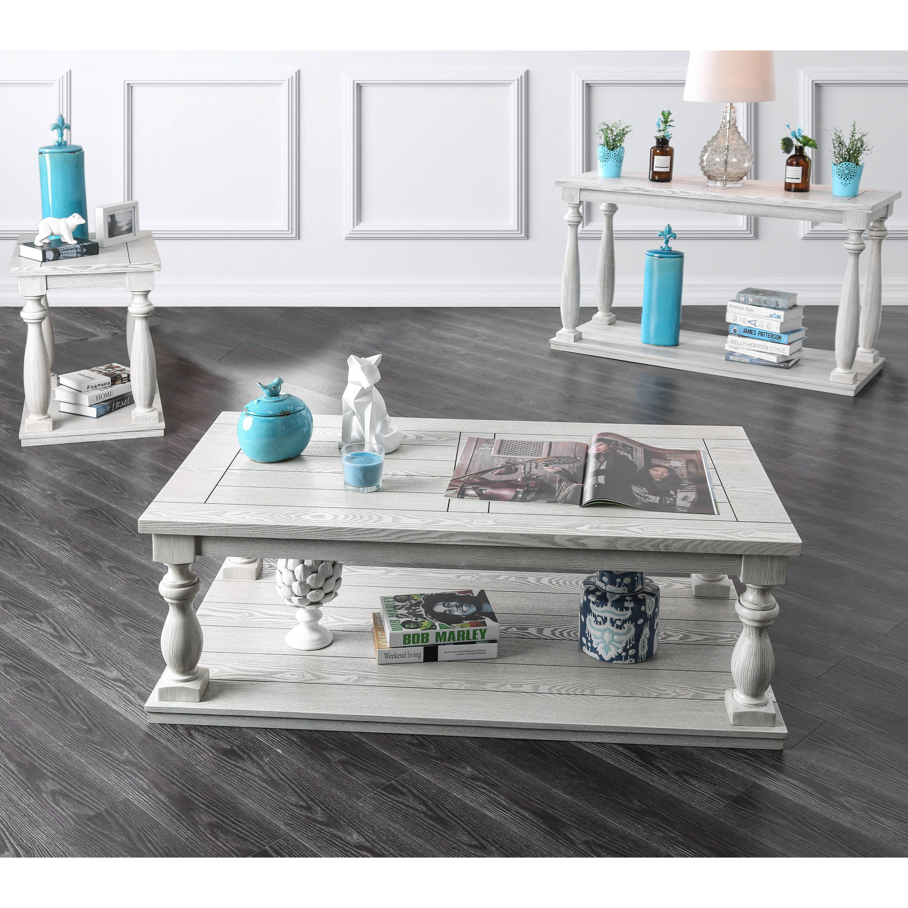 Beau Shop Furniture Of America Franklin Rustic Antique White Coffee Table   On  Sale   Free Shipping Today   Overstock.com   20610014
