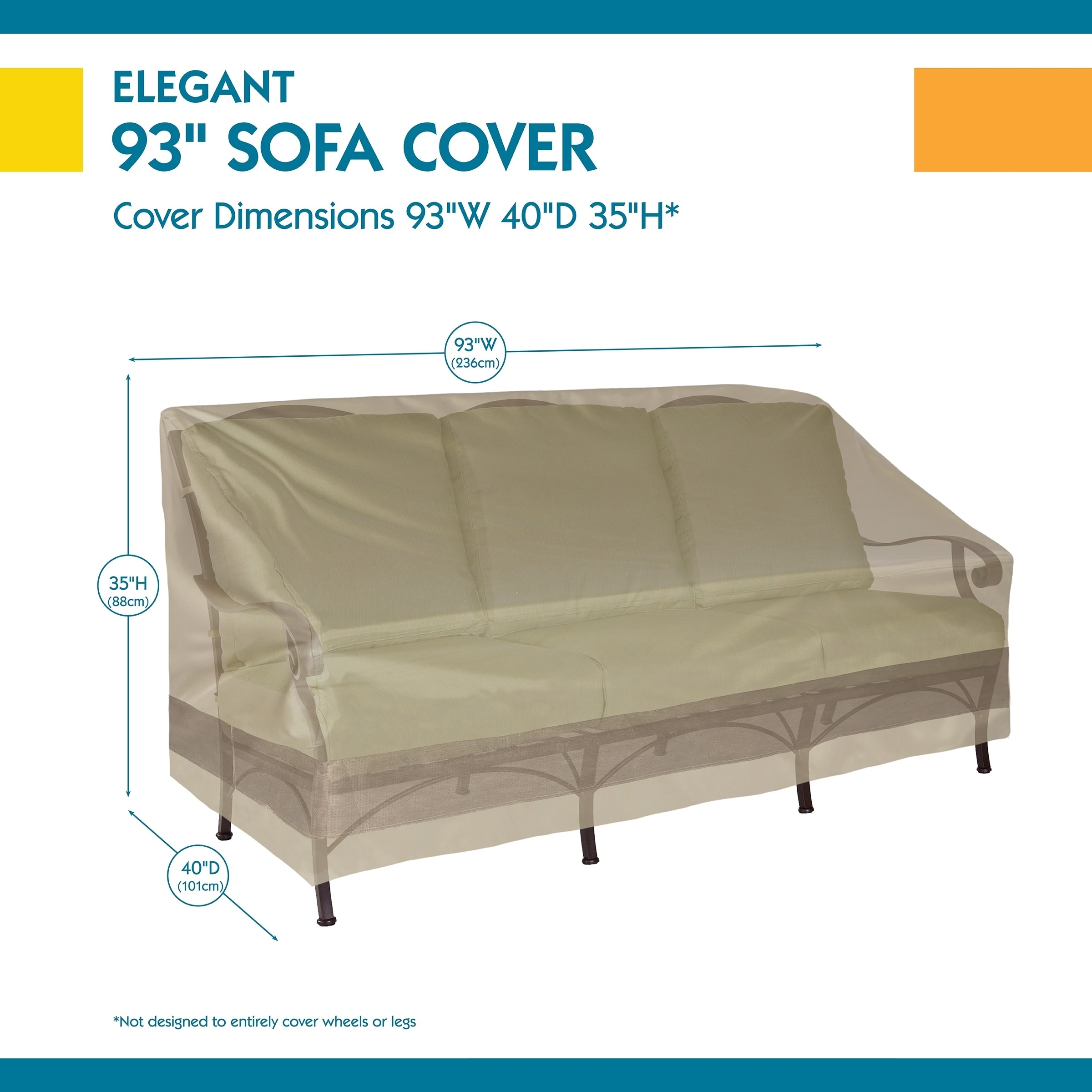 Duck Covers Elegant Patio Sofa Cover On Free Shipping Orders Over 45 20615643