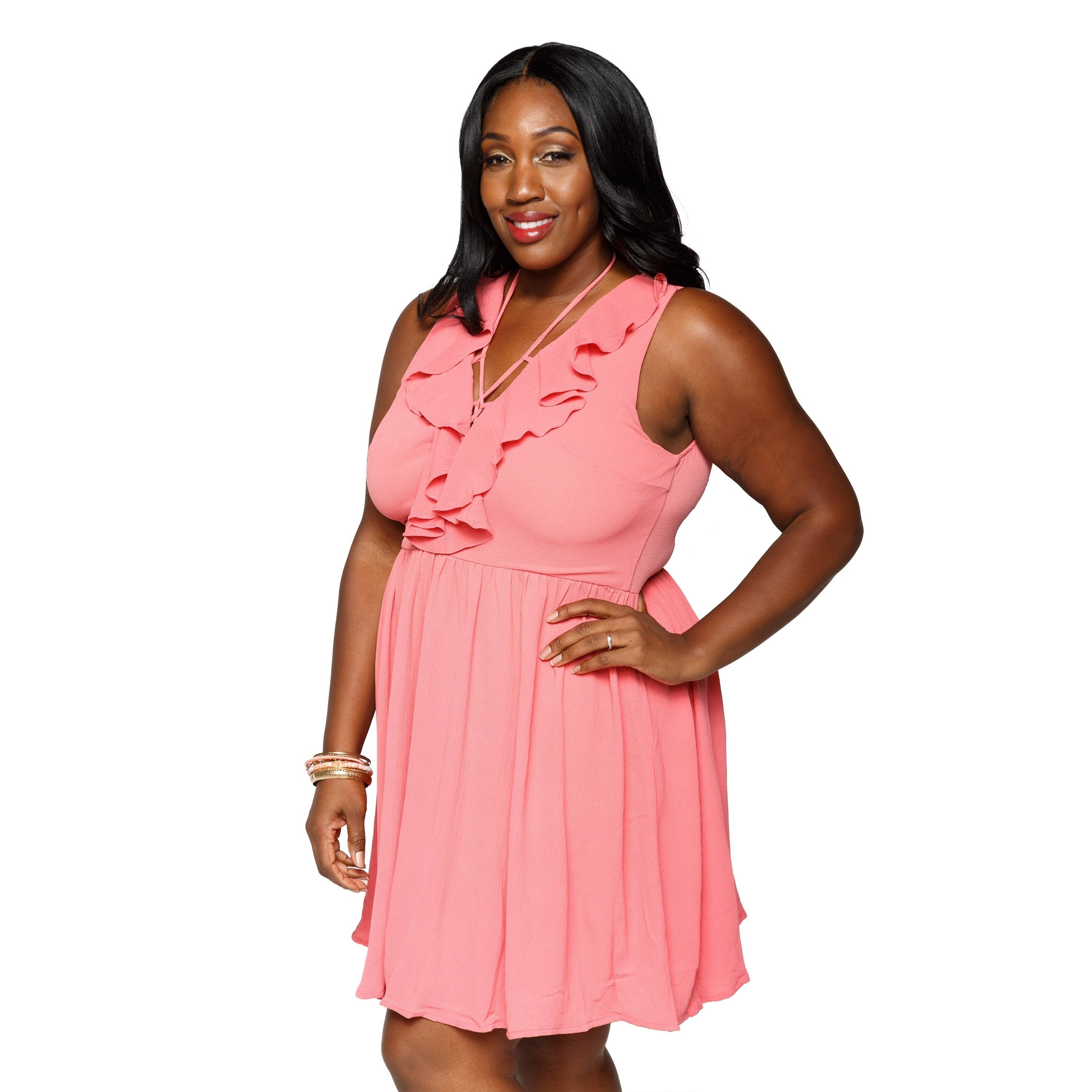 8d7953a42a1 Shop Xehar Womens Plus Size Sexy Sleeveless Short Mini Midi Summer Dress -  On Sale - Free Shipping Today - Overstock.com - 20616659