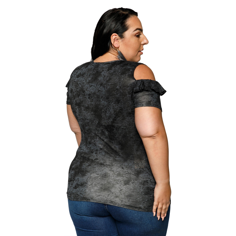 3387c268 Womens Plus Size Tie Neck Blouse | RLDM