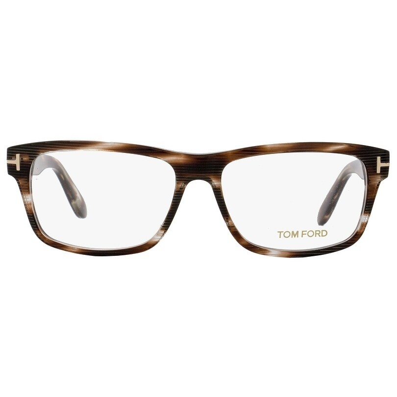3cd1da1e09 Shop Tom Ford TF5320 020 Mens Crystal Striped Brown 56 mm Eyeglasses -  crystal striped brown - Free Shipping Today - Overstock - 20617469