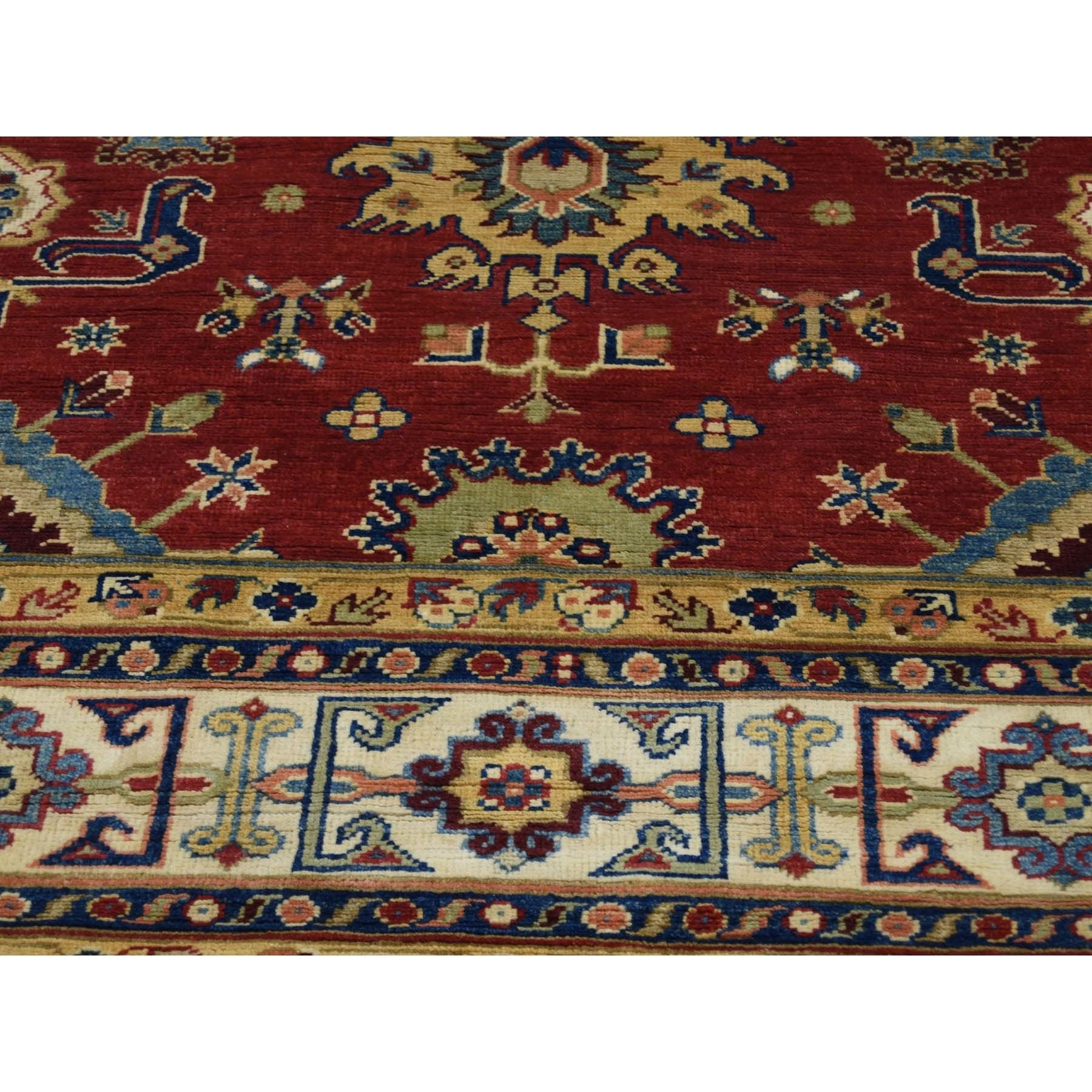 Shahbanu Rugs Special Kazak Geometric Design Hand Knotted Oriental Rug 8 1 X 9 7 Free Shipping Today 26469287