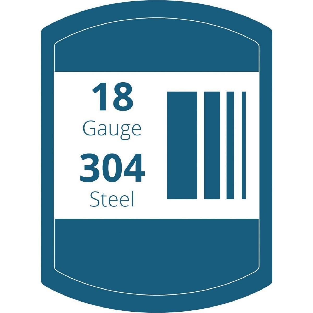 Shop Elkay Lustertone Stainless Steel 23-1/2\