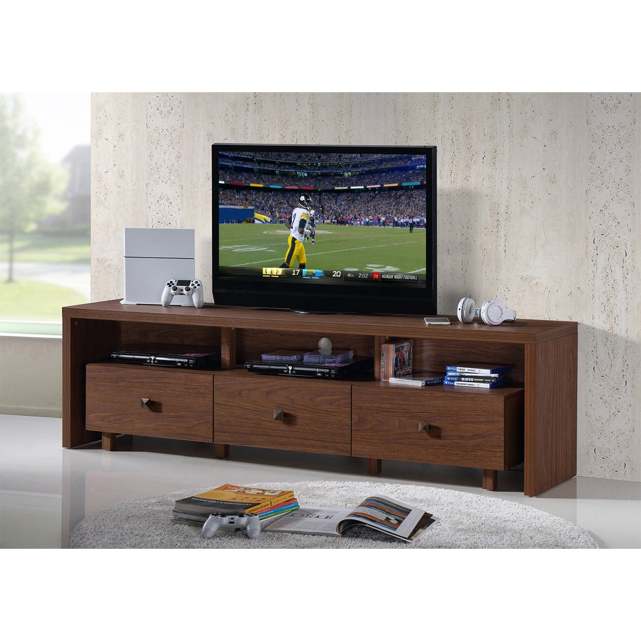 Shop Urban Designs Elegant Tv Stand For Tvs Up To 75 Inches With
