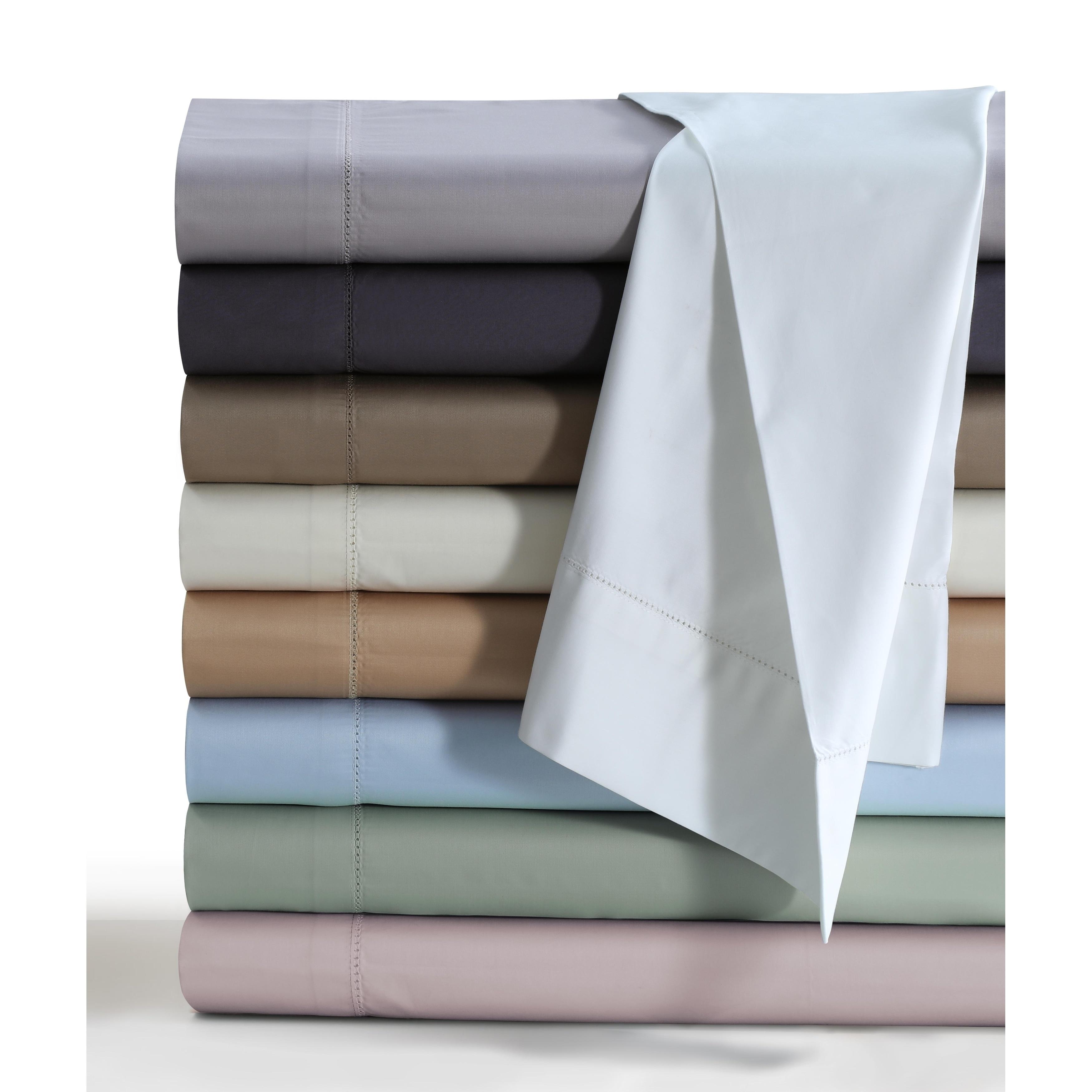 Egyptian Cotton 800 Tc Deep Pocket Sheet Set With Luxury Size Flat