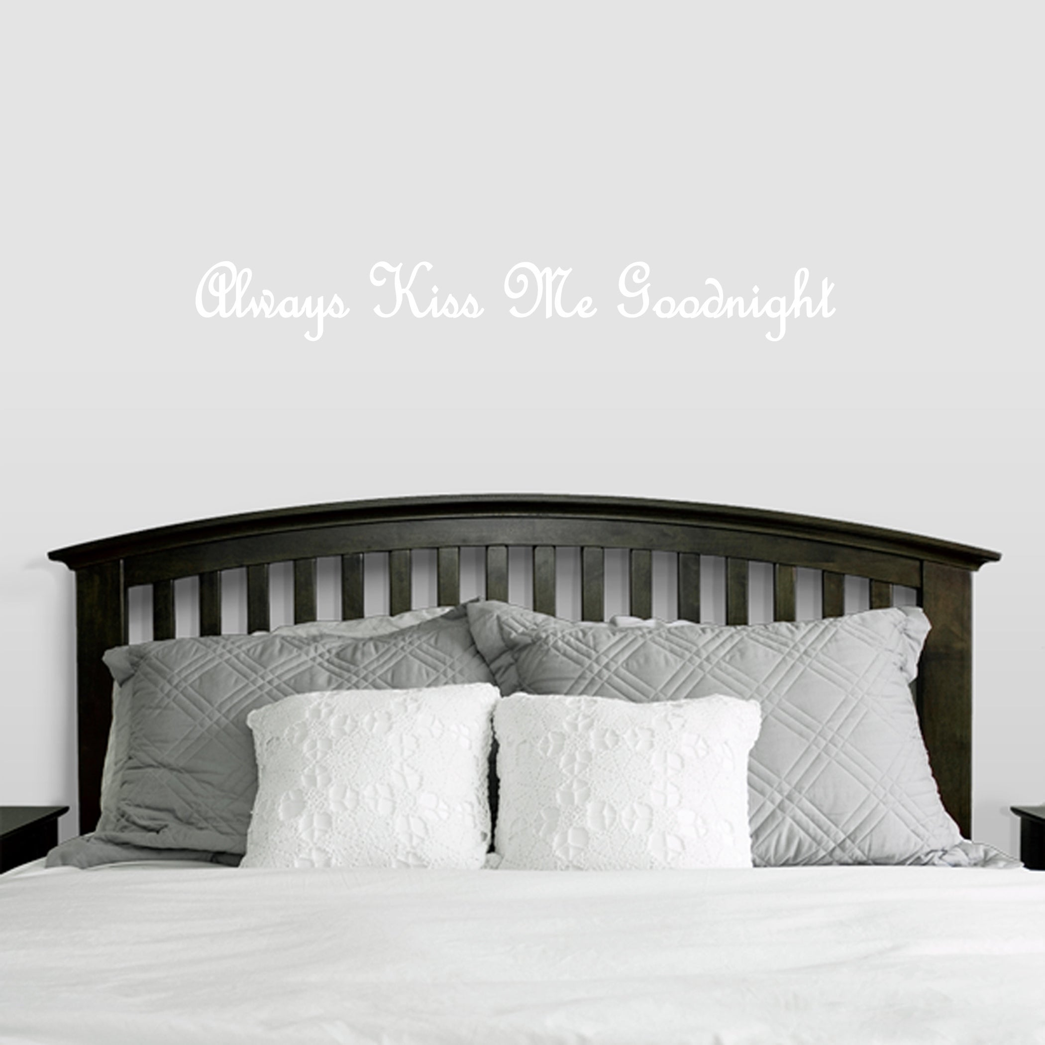 Always Kiss Me Goodnight Wall Decals Wall Stickers - Free Shipping ...