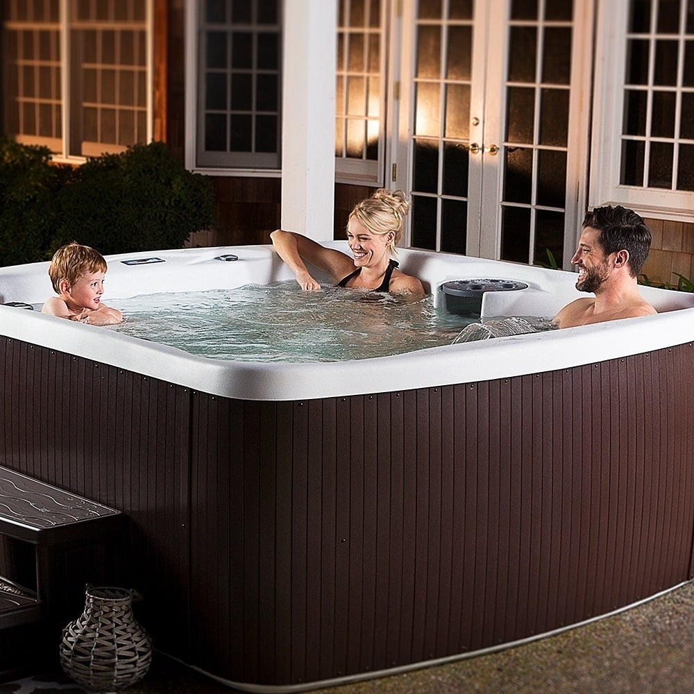 solid rock reviews tub lifesmart simplicity wayfair plug person and play spa jet spas pdx hot outdoor
