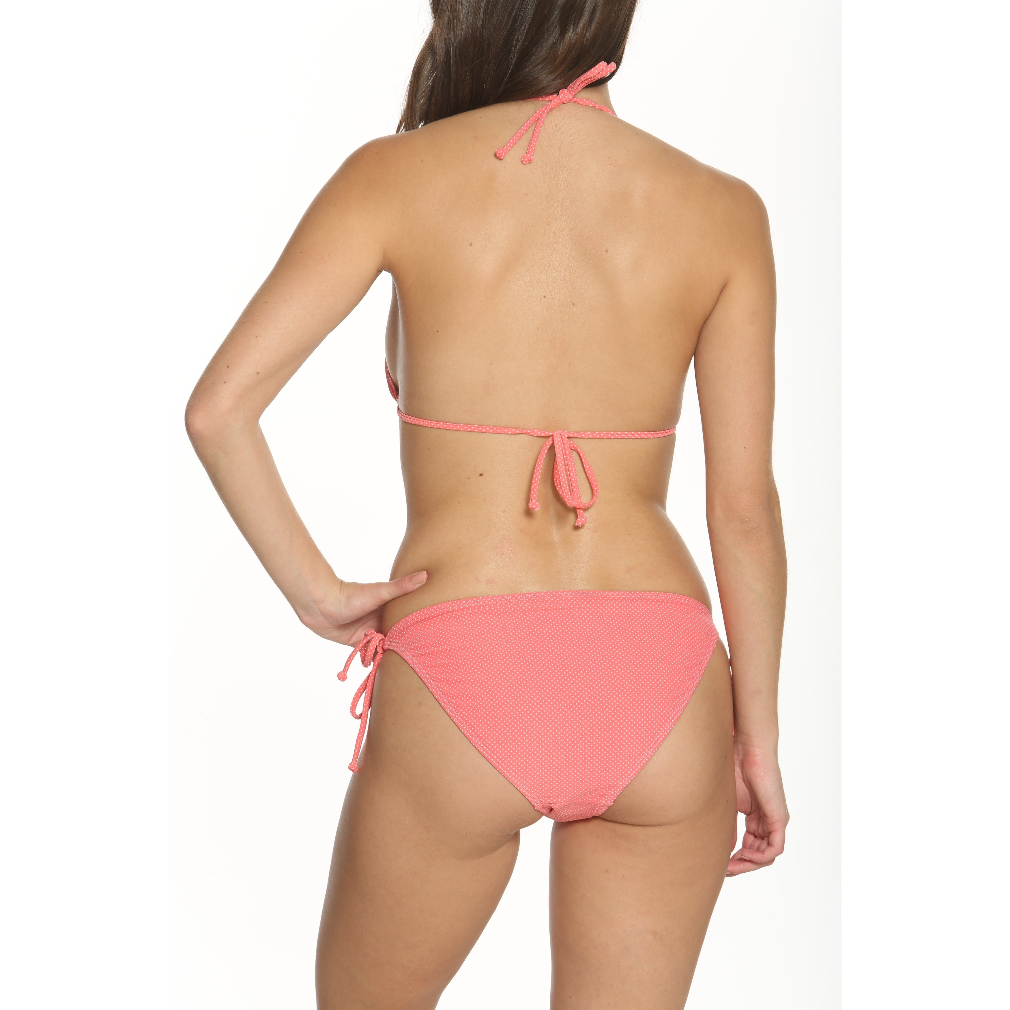 bfea98a09ade5 Shop Pixie Pier Triangle Top Bikini Set - Free Shipping On Orders Over $45  - Overstock - 20657632