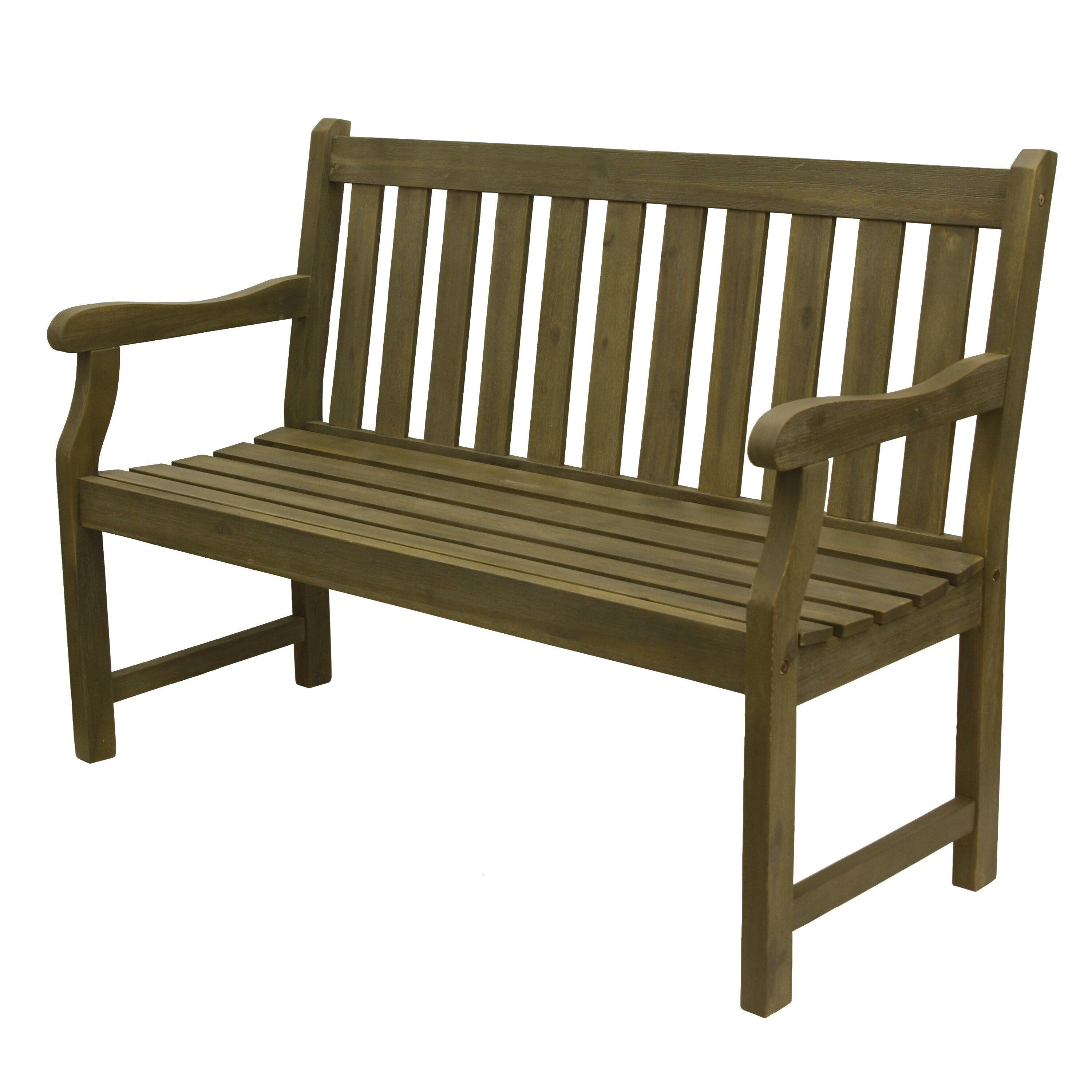 Shop Henley 2 Seat Outdoor Bench   Free Shipping Today   Overstock.com    20657805