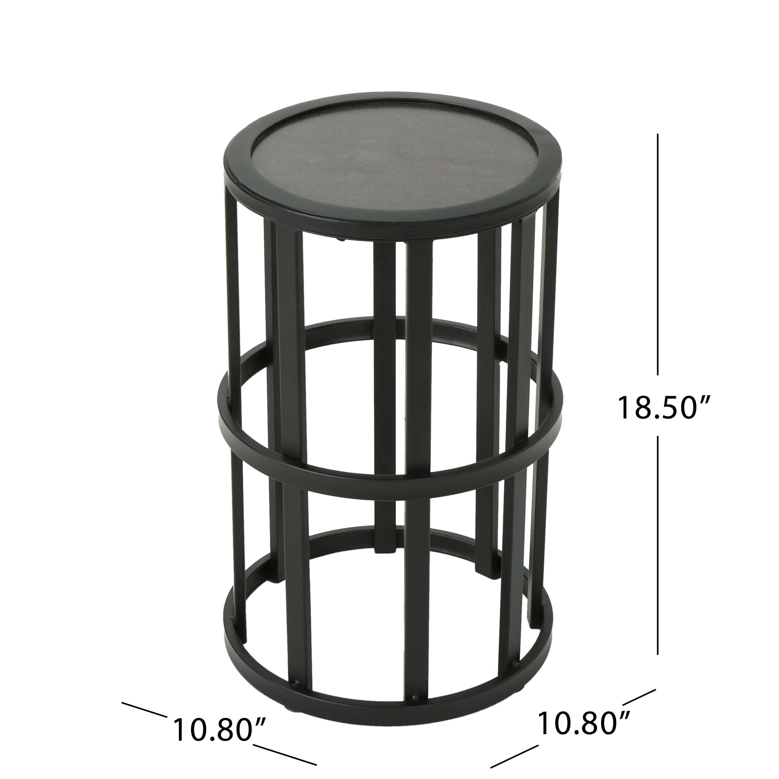 Carlo Outdoor 11 Inch Ceramic Tile Side Table By Christopher Knight Home Free Shipping Today 26493699