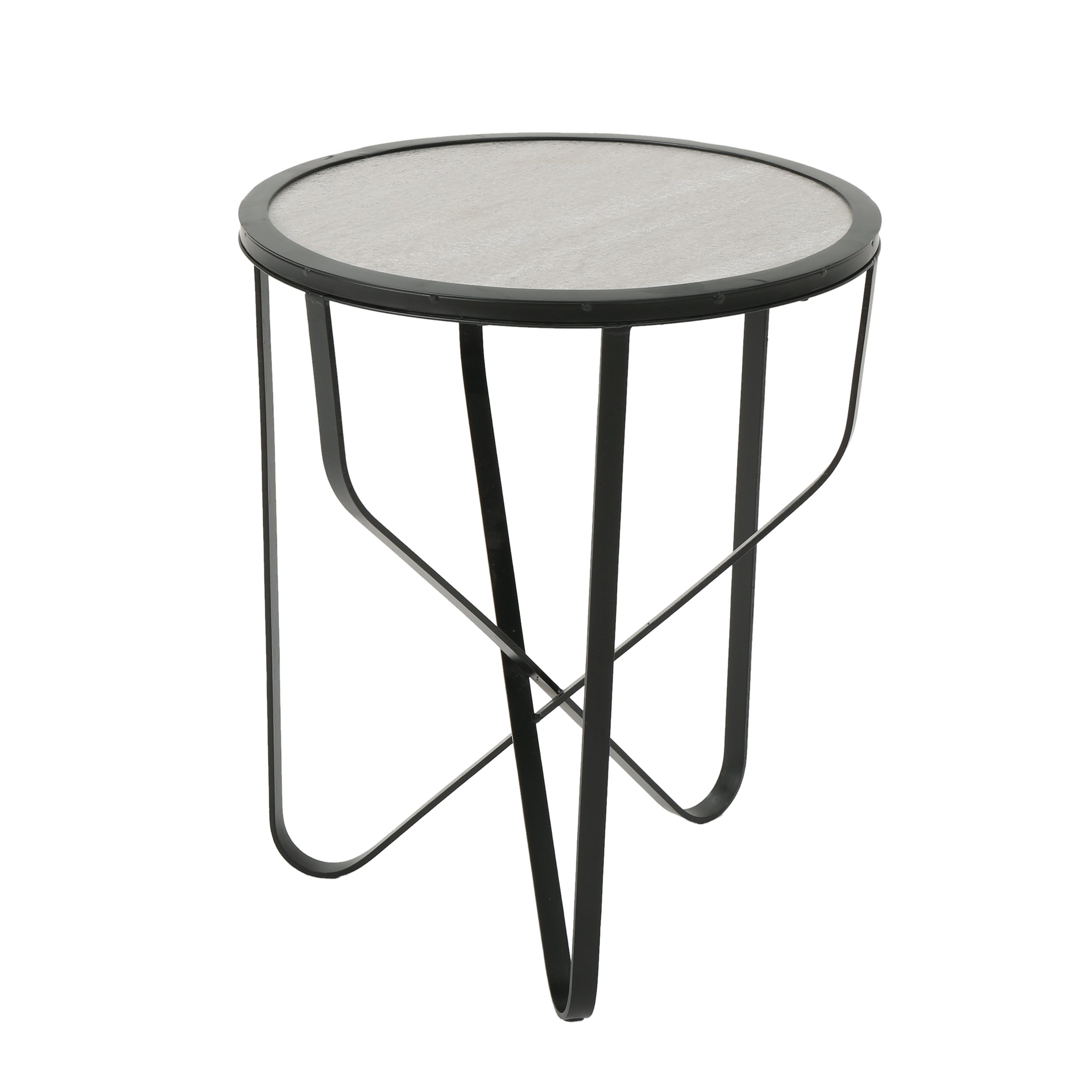 Norfolk Outdoor 18-inch Ceramic Tile Side Table by Christopher ...