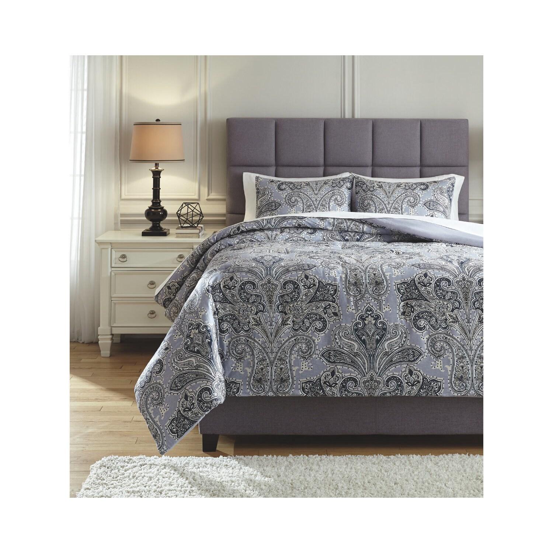 Shop Signature Design By Ashley Susannah 3 Piece Comforter Set