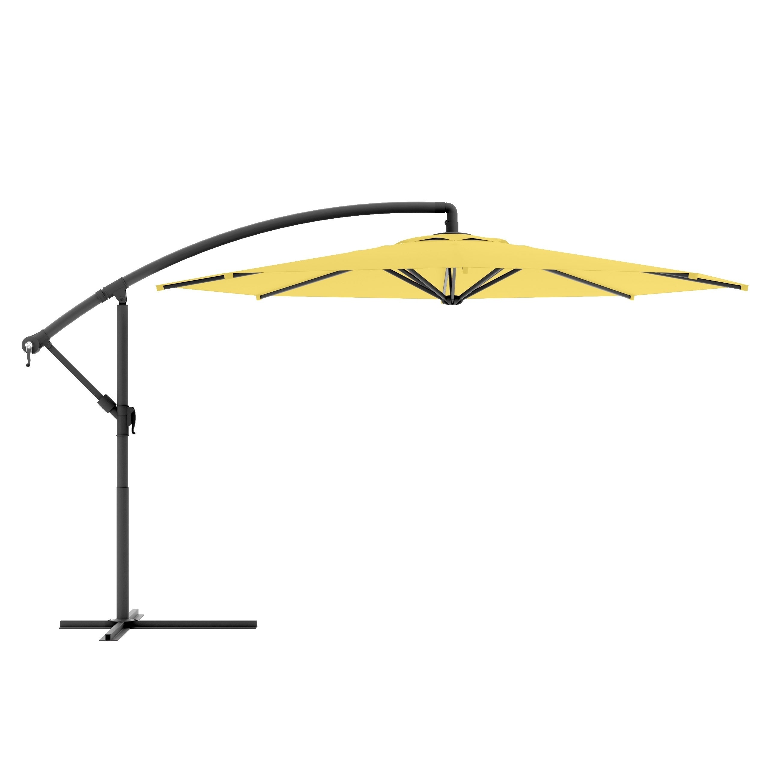 Shop Corliving Offset Patio Umbrella Free Shipping Today