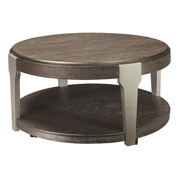 Shop Signature Design By Ashley Brenzington Contemporary Coffee - Ashley coffee table with stools