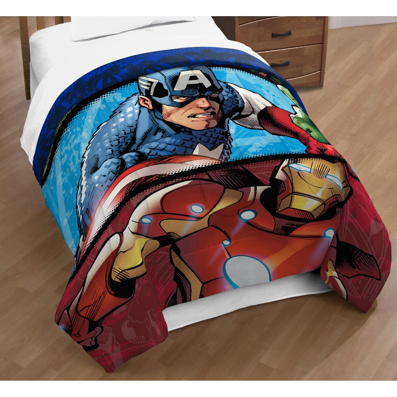 sheet up heroes marvel dp avengers twin com amazon home comforter set cut kitchen