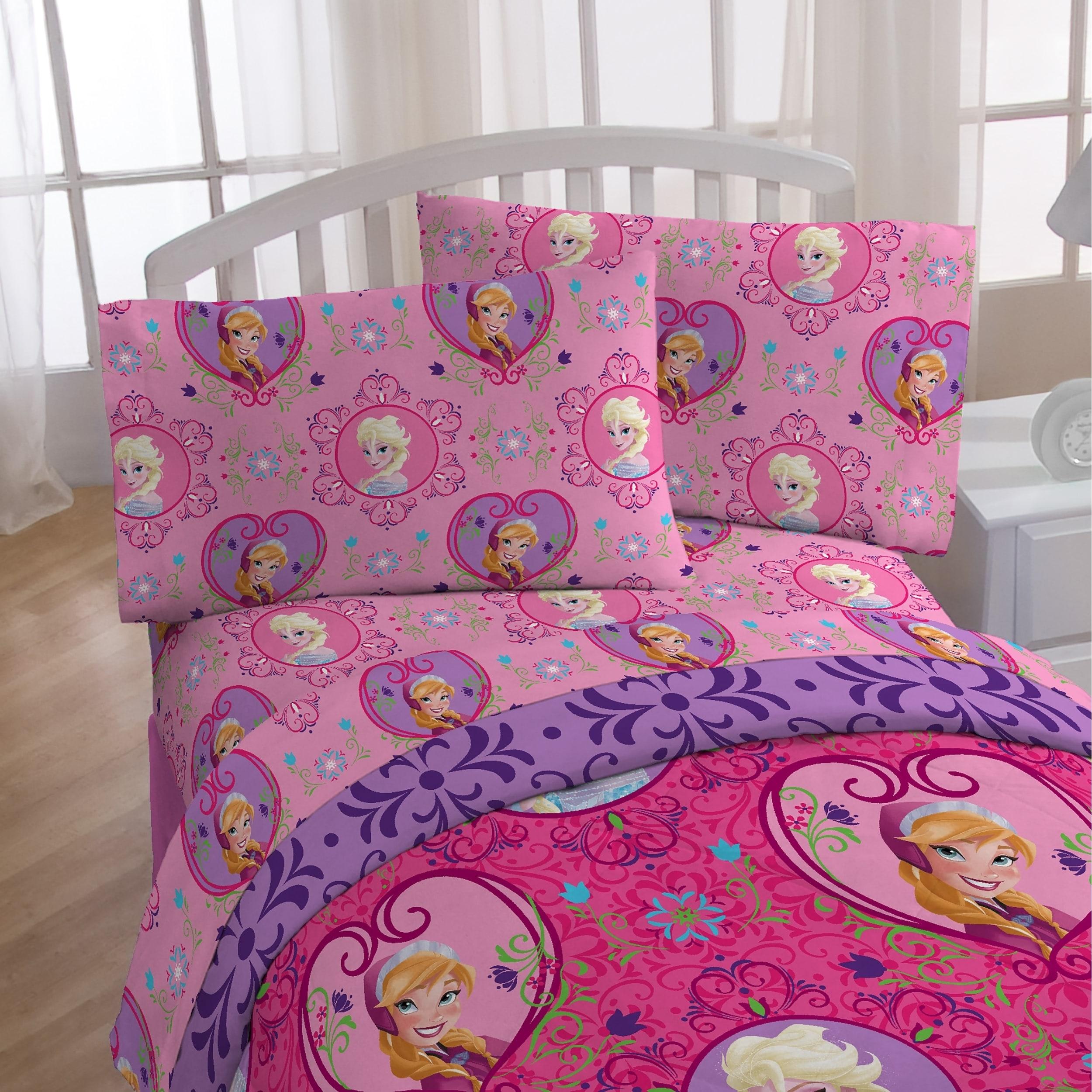 Shop Disney Frozen Friendship 4 Piece Twin Bed In A Bag On Sale