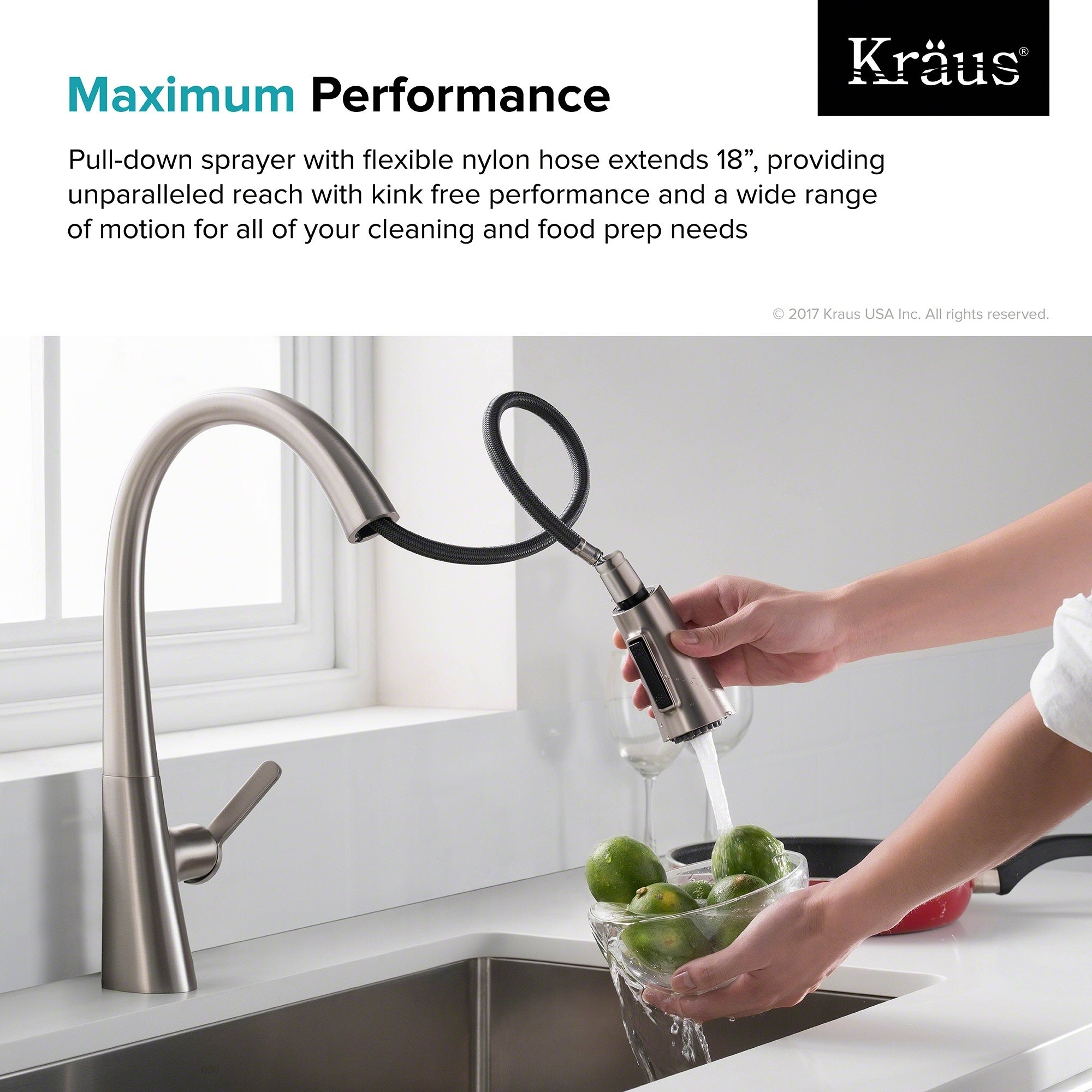 lever pull stainless kraus dp single kitchen steel out com kpf faucet amazon