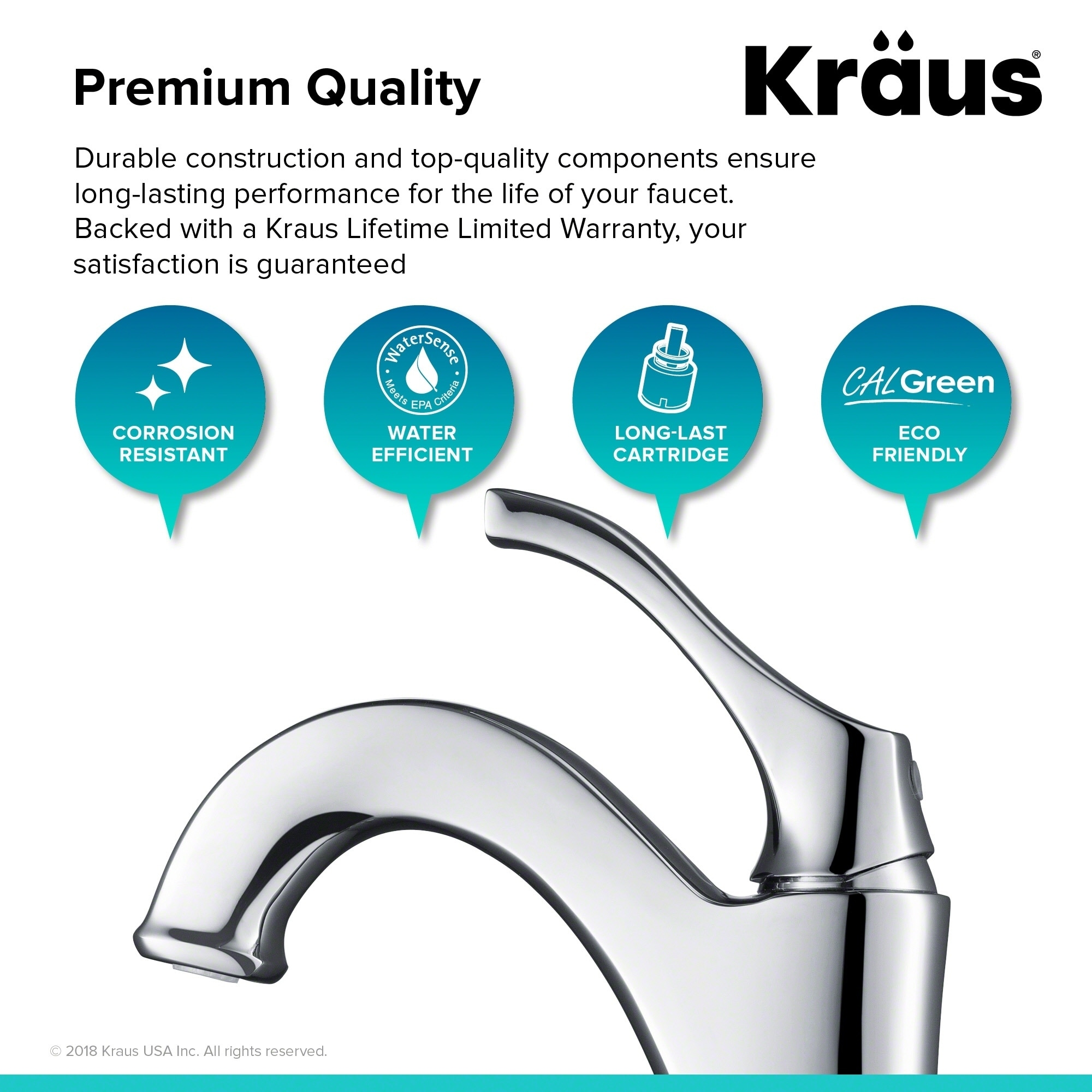 Shop Kraus KVF-1200 Arlo Single Hole Single-Handle Bathroom Vessel ...