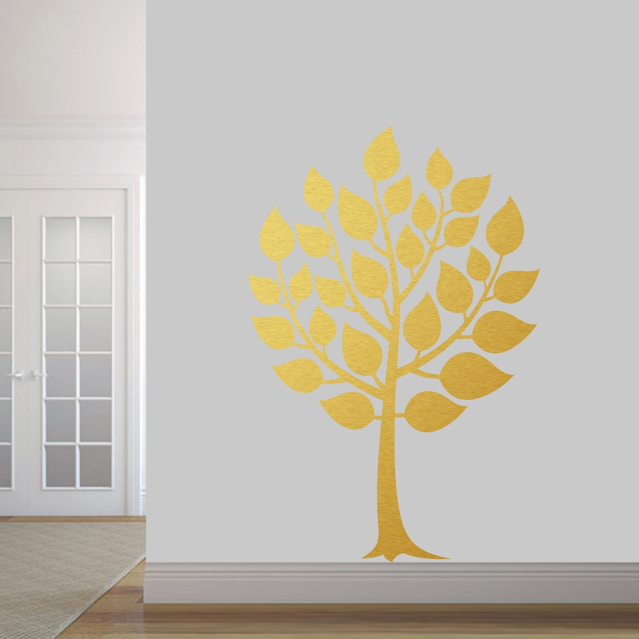 Round Tree Wall Decal - Free Shipping Today - Overstock.com - 26516914