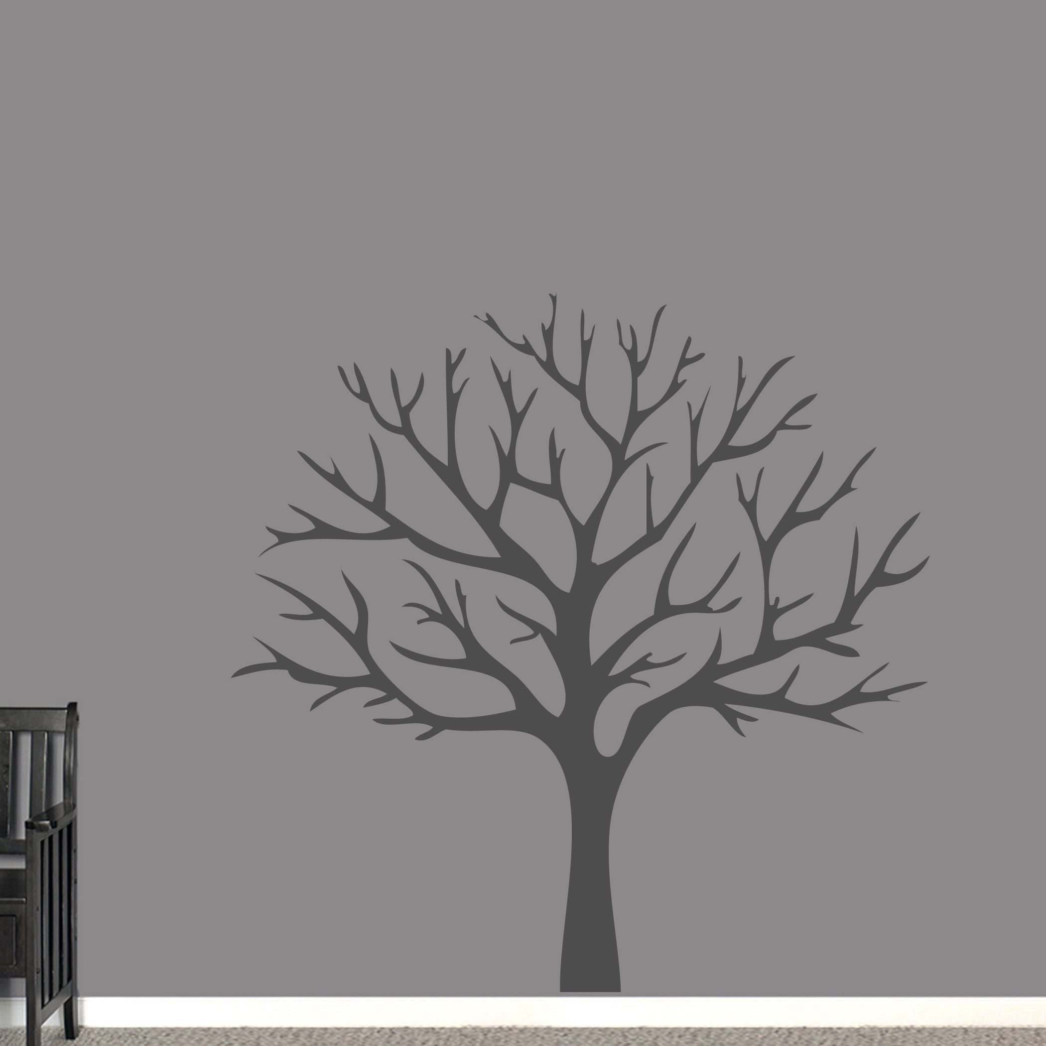 342830974698 Shop Winter Tree Wall Decal - On Sale - Free Shipping Today - Overstock -  20685007