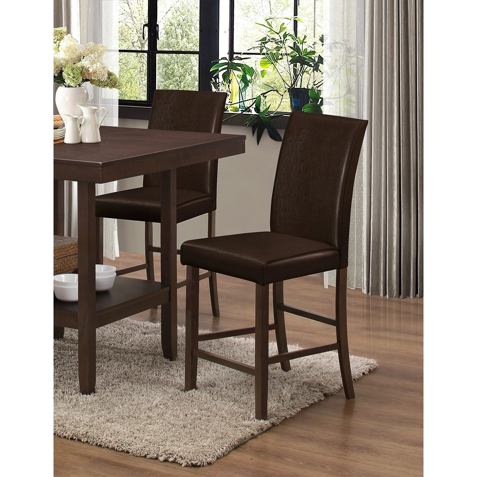 Merveilleux Best Master Furniture Espresso Counter Height Chair (Set Of 2)   Free  Shipping Today   Overstock.com   26517561