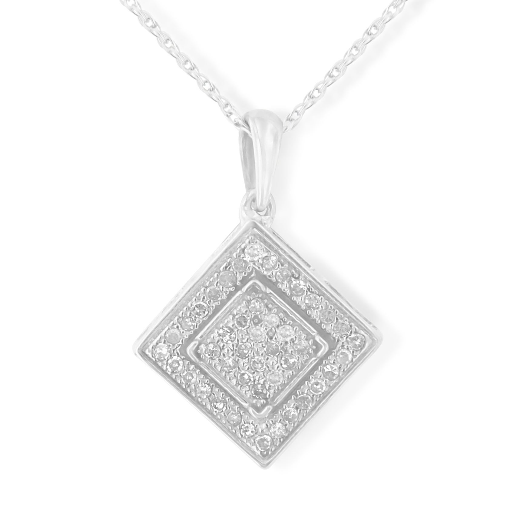 necklace shop gold diamond yellow image pendant product k square of bony levy ctw