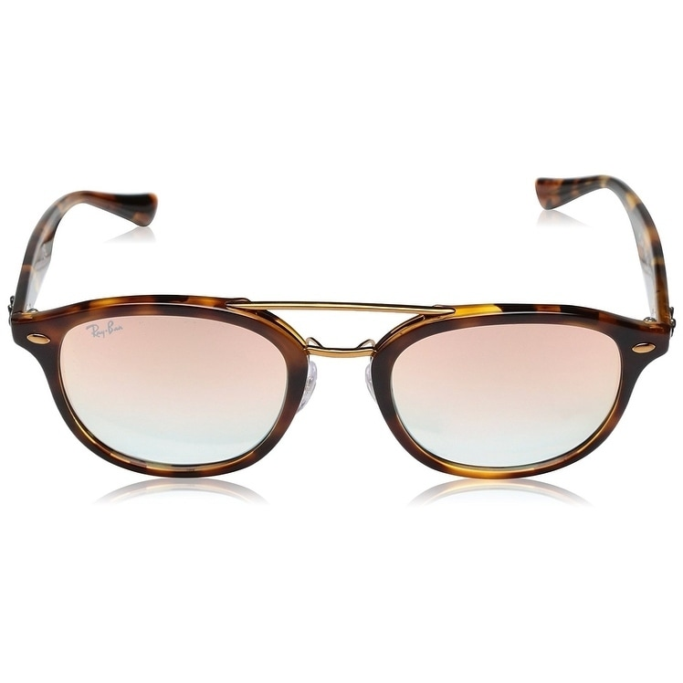 07db68105e Shop Ray-Ban RB2183 Unisex Tortoise Frame Pink Gradient Mirror 53mm Lens  Sunglasses - Free Shipping Today - Overstock - 20707664