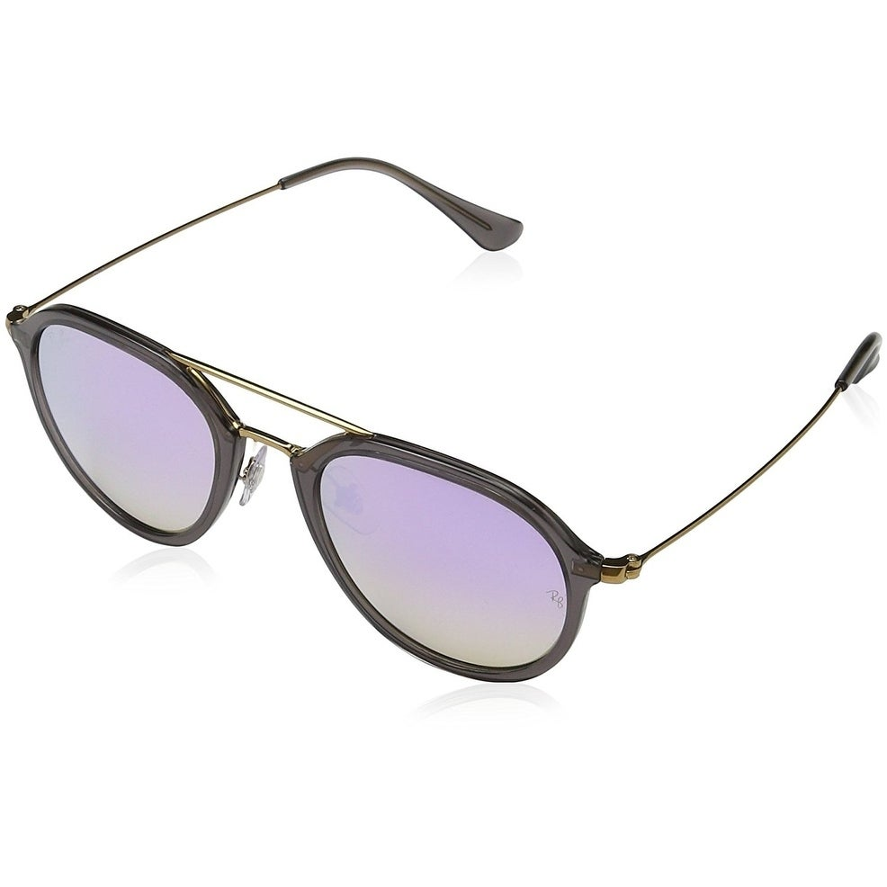 42a0bf5a40 Shop Ray-Ban RB4253 Men s Grey Frame Lilac Gradient Flash 53mm Lens  Sunglasses - Free Shipping Today - Overstock - 20707665