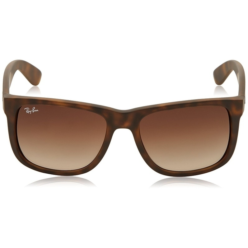 b37c959b21 Shop Ray-Ban RB4165 Justin Classic Tortoise Frame Brown Gradient 53mm Lens  Sunglasses - Free Shipping Today - Overstock - 20707667