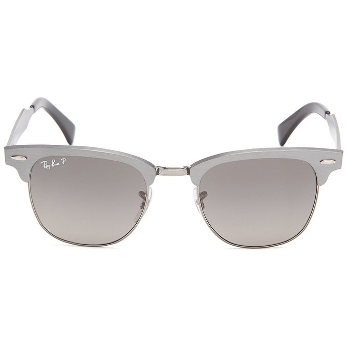 ba5ad0d70d5 Shop Ray-Ban RB3507 Clubmaster Aluminum Gunmetal Frame Polarized Grey  Gradient 51mm Lens Sunglasses - Free Shipping Today - Overstock - 20707676