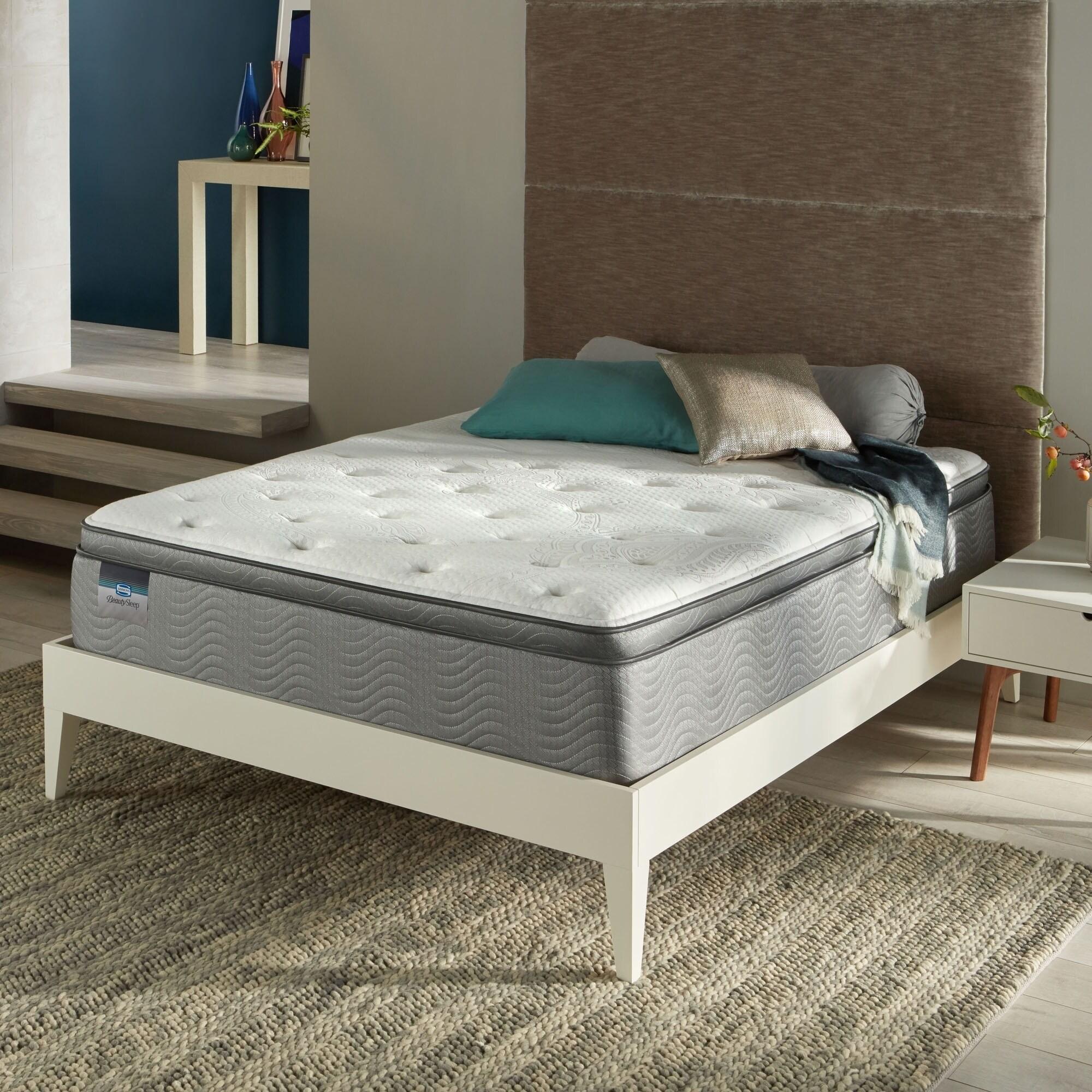 Beautysleep Swanson 12 Luxury King Size Firm Pillow Top Mattress On Free Shipping Today 20708629