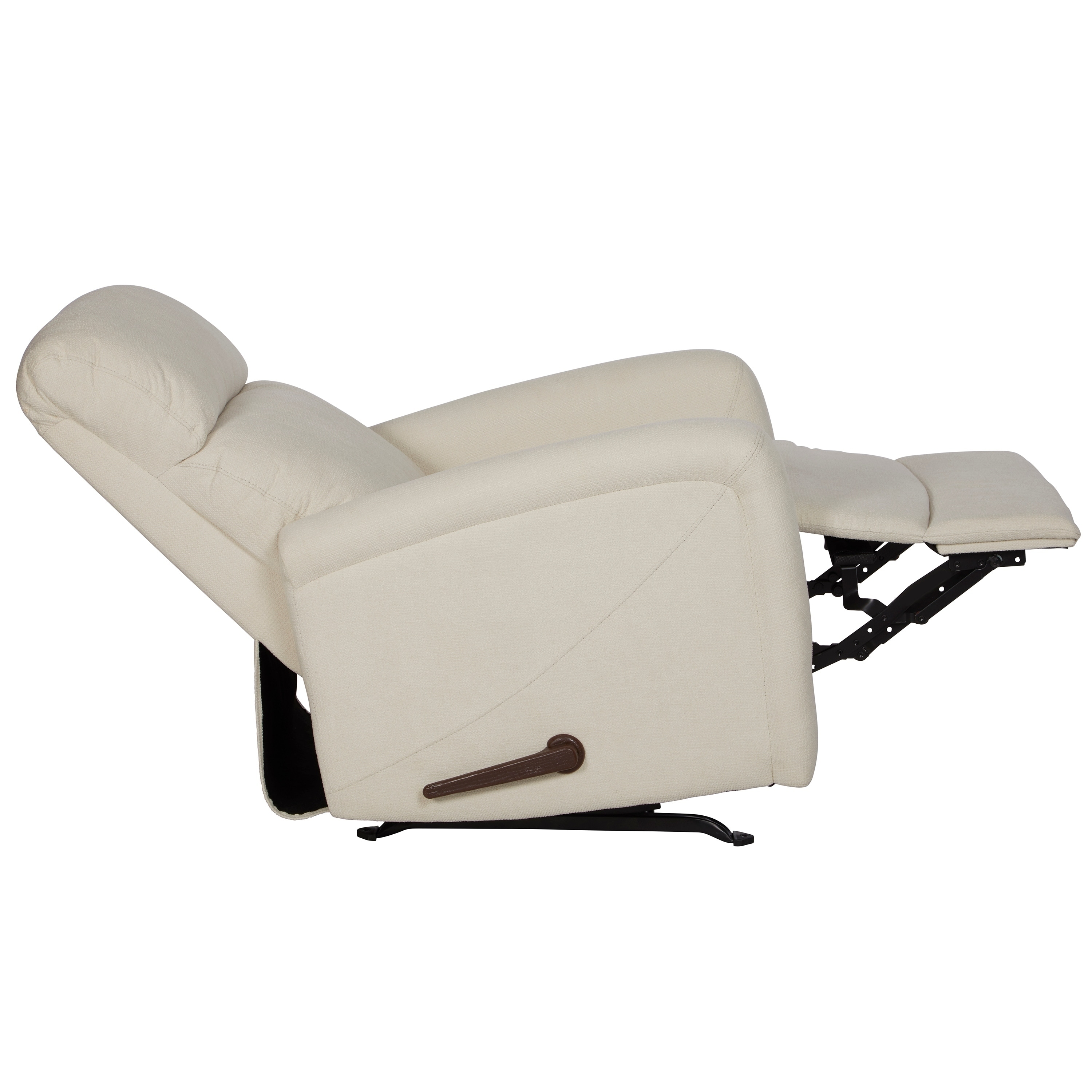 ProLounger Cream Chenille Rocker Recliner Chair   Free Shipping Today    Overstock   26538936