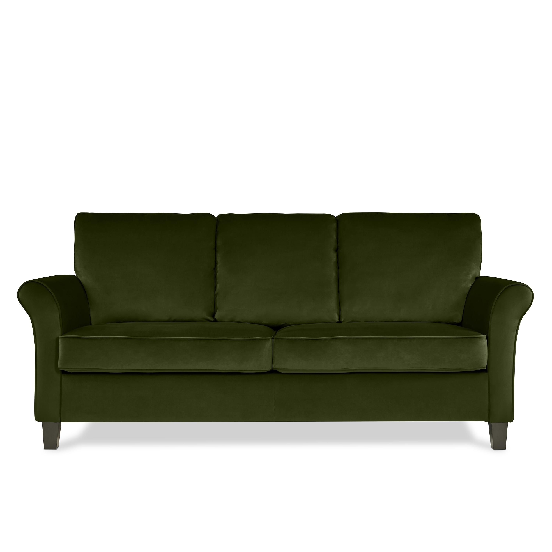 mid left article century green sectional modern grass product sofa velvet scandinavian furniture and sectionals sven loveseat