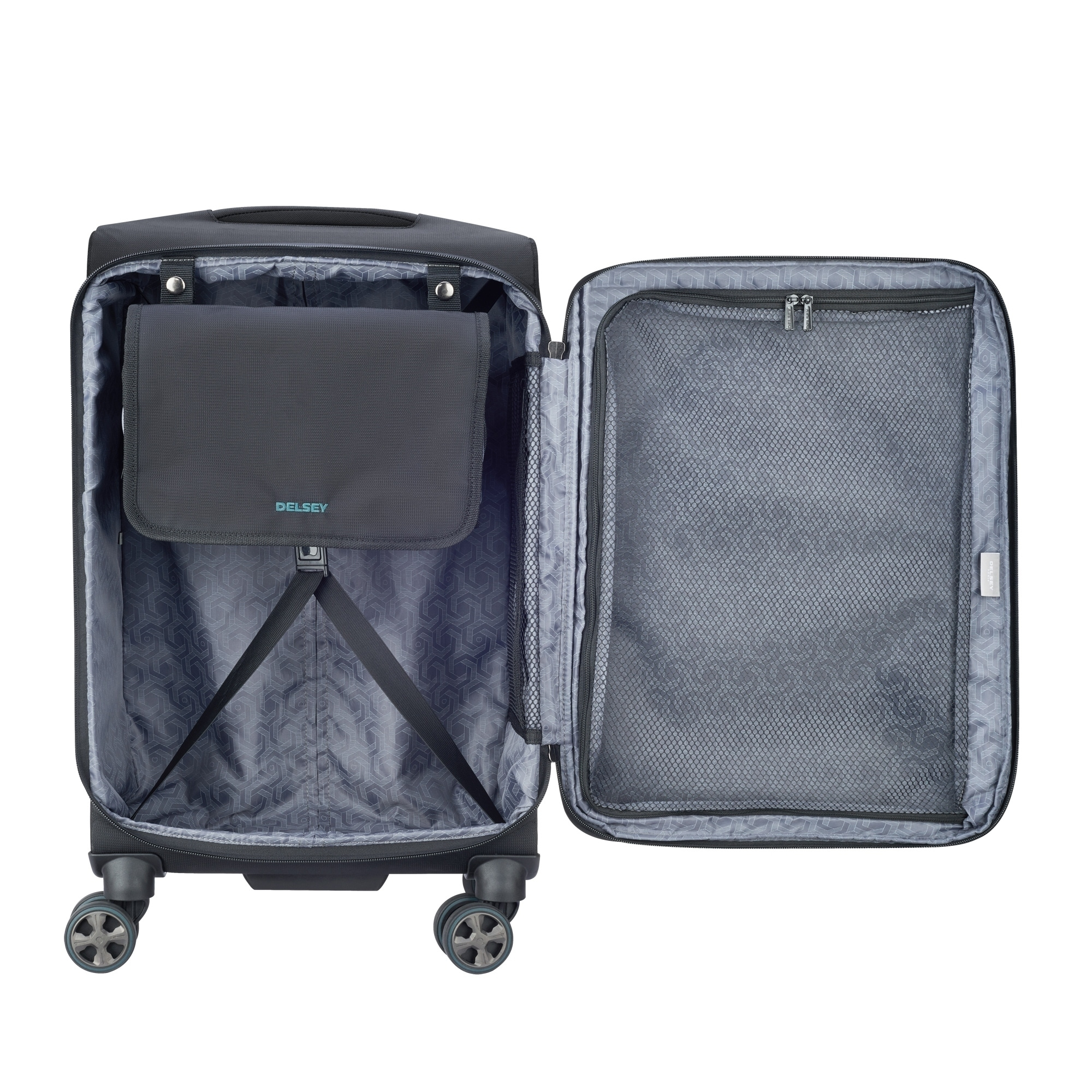 31f8f6258040 DELSEY Paris Hyperglide 4-Piece Expandable Spinner Nested Luggage Set