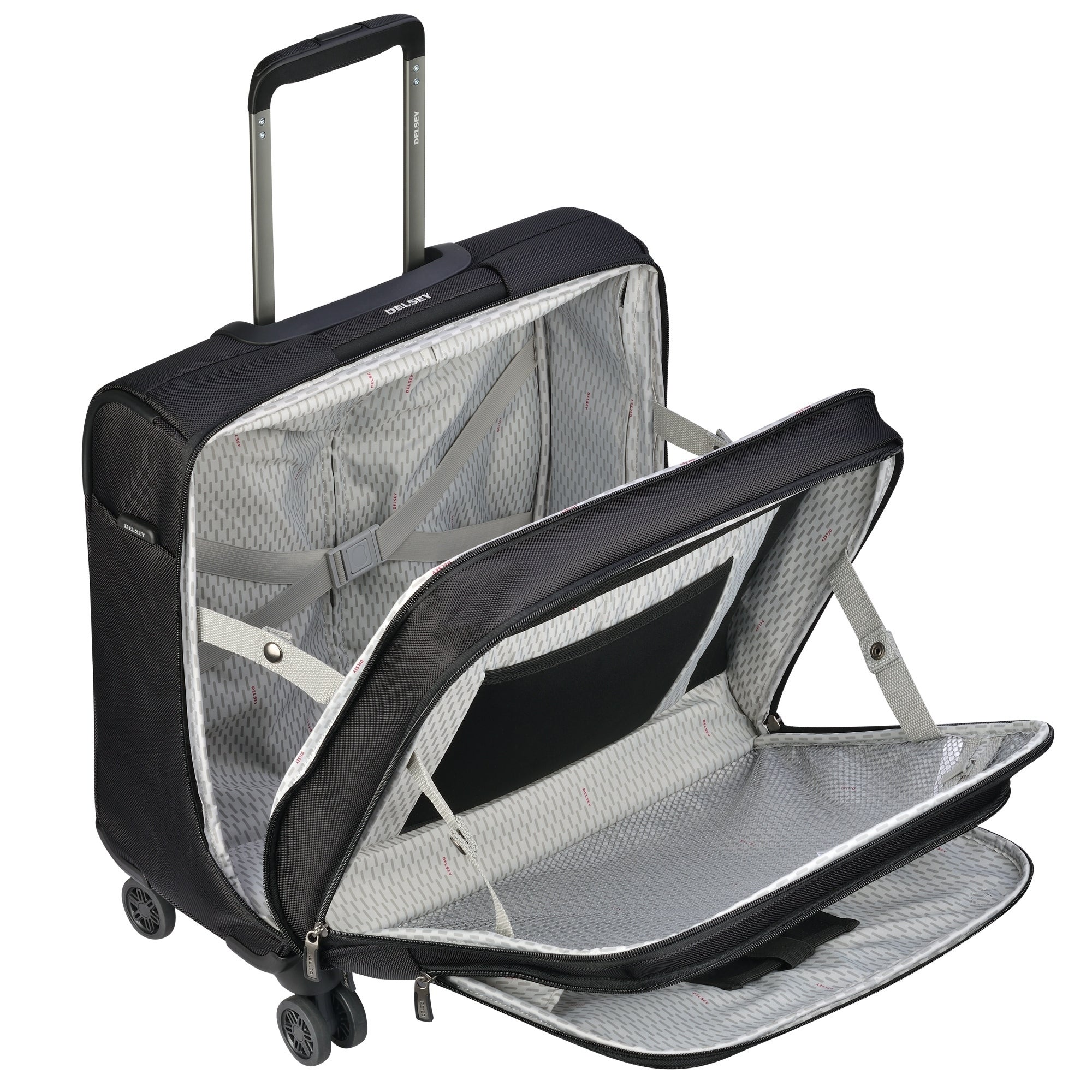 566e295c0c7c DELSEY Paris Cruise Lite Softside Spinner Trolley Tote Bag